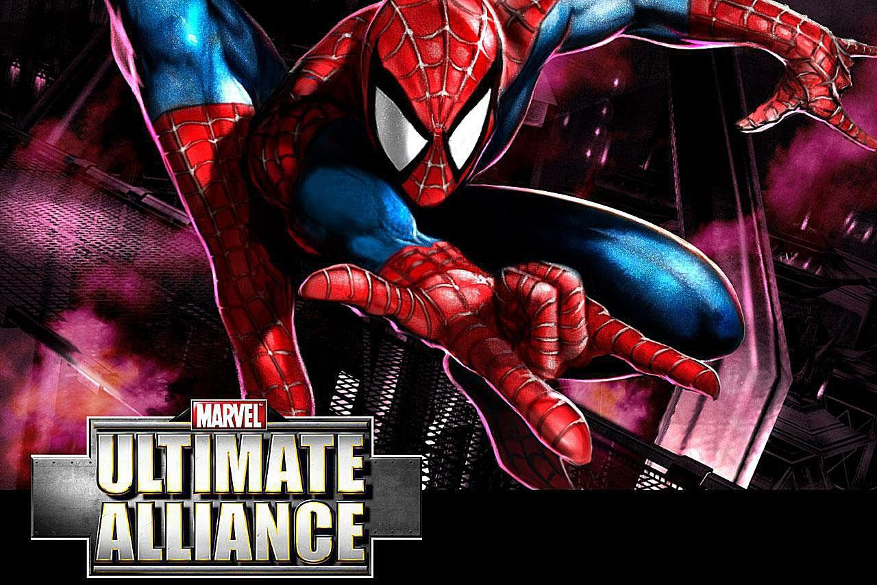 Marvel Ultimate Alliance Spider Man Wallpapers Wallpaper Cave