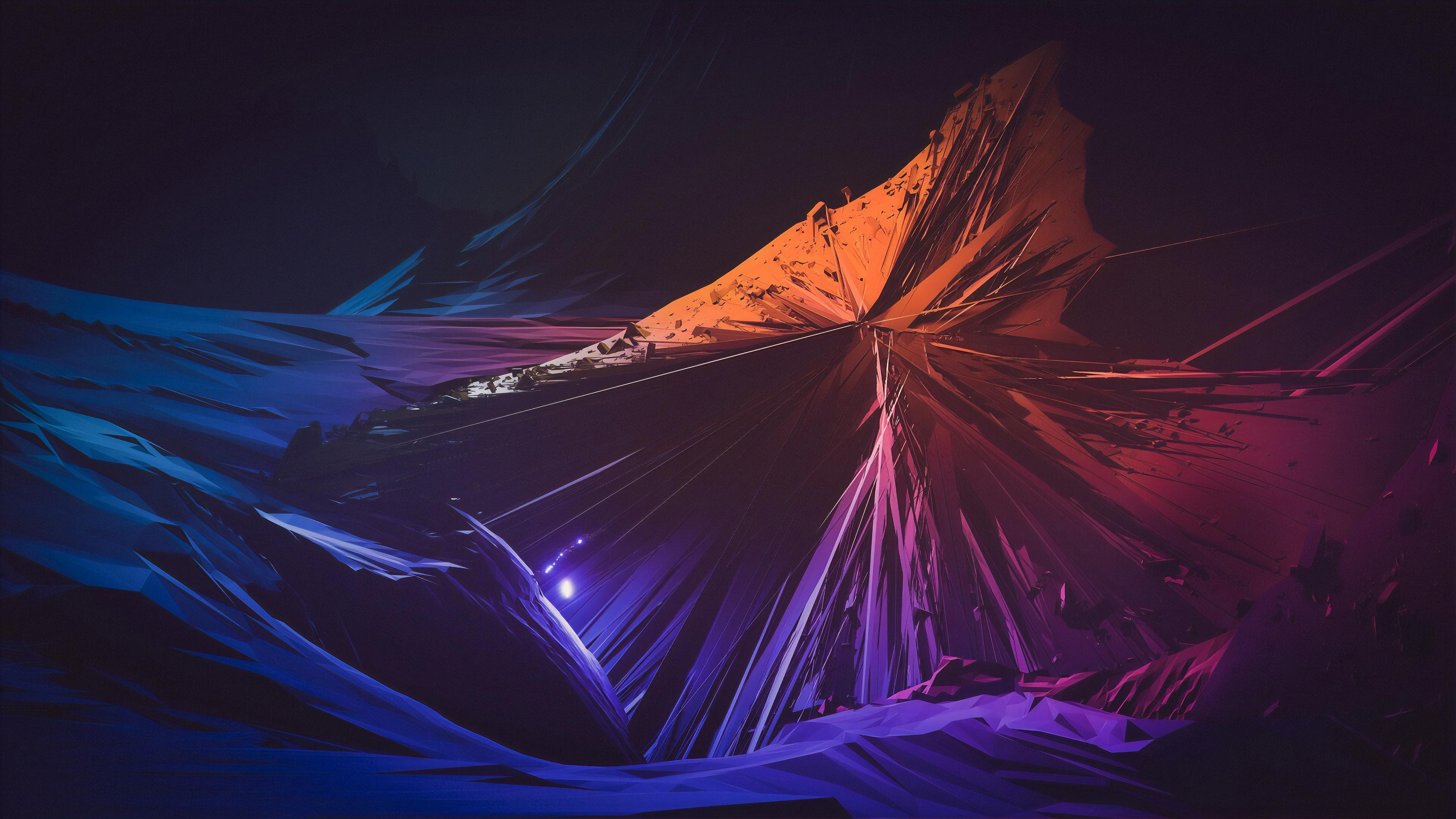 Abstract Shapes 4K Wallpapers