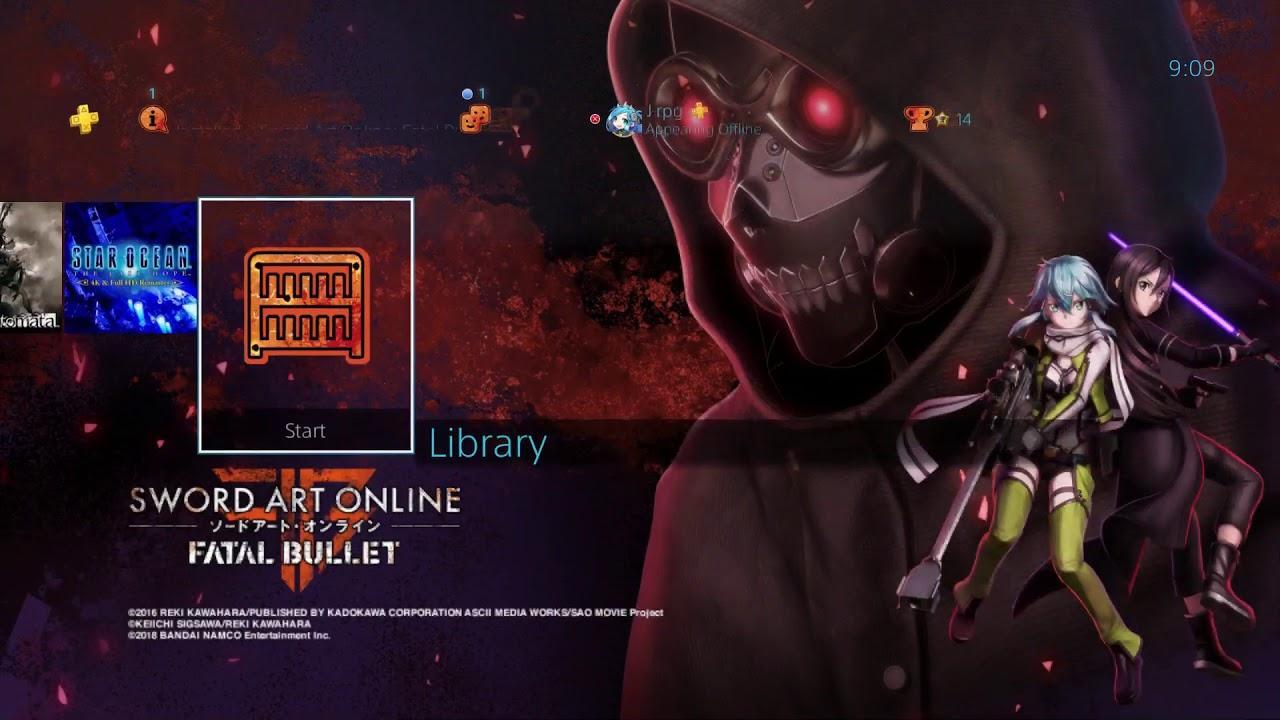 Sword Art Online Fatal Bullet Complete Edition Wallpapers