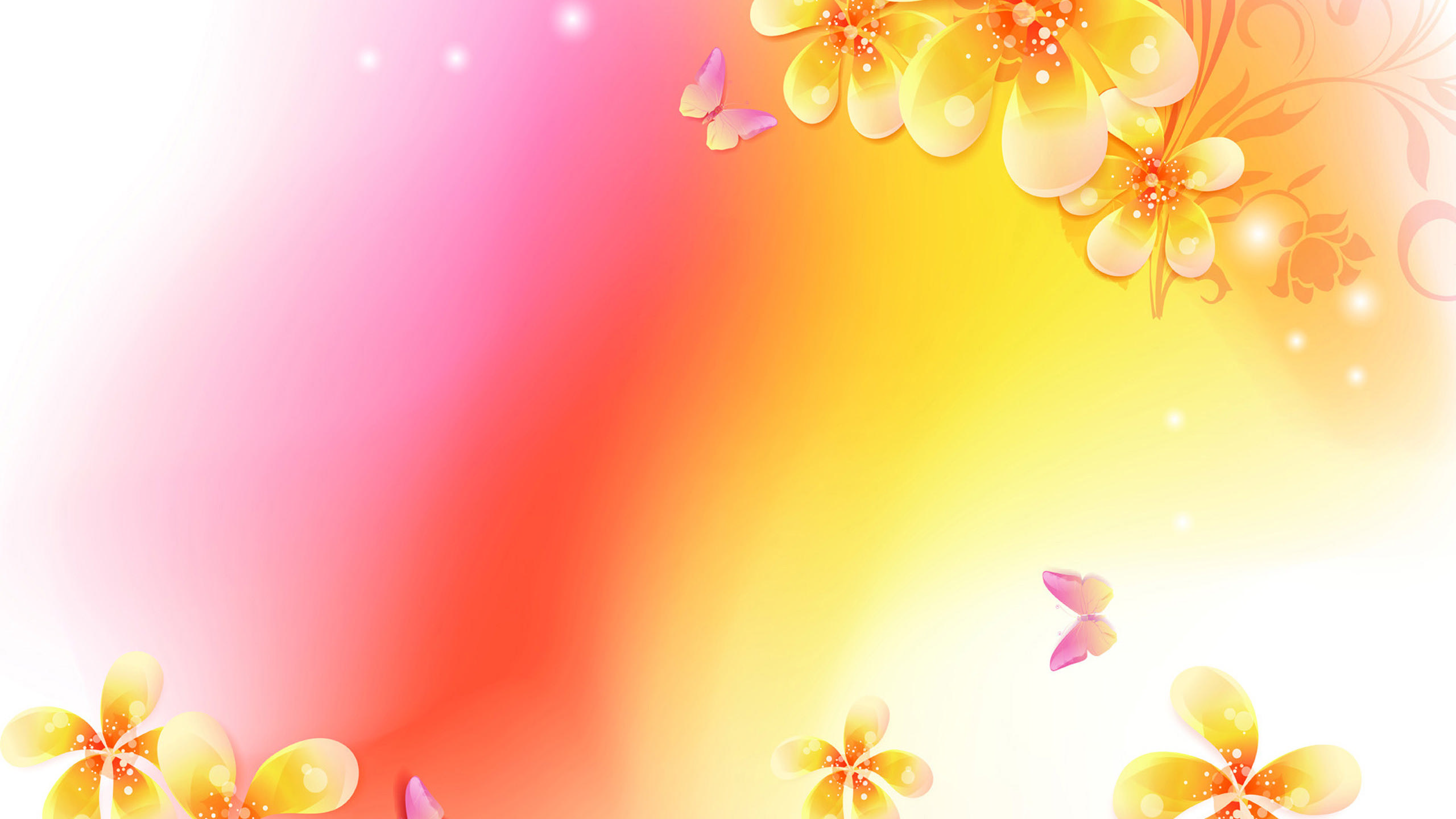 Floral Abstract Wallpapers Wallpaper Cave