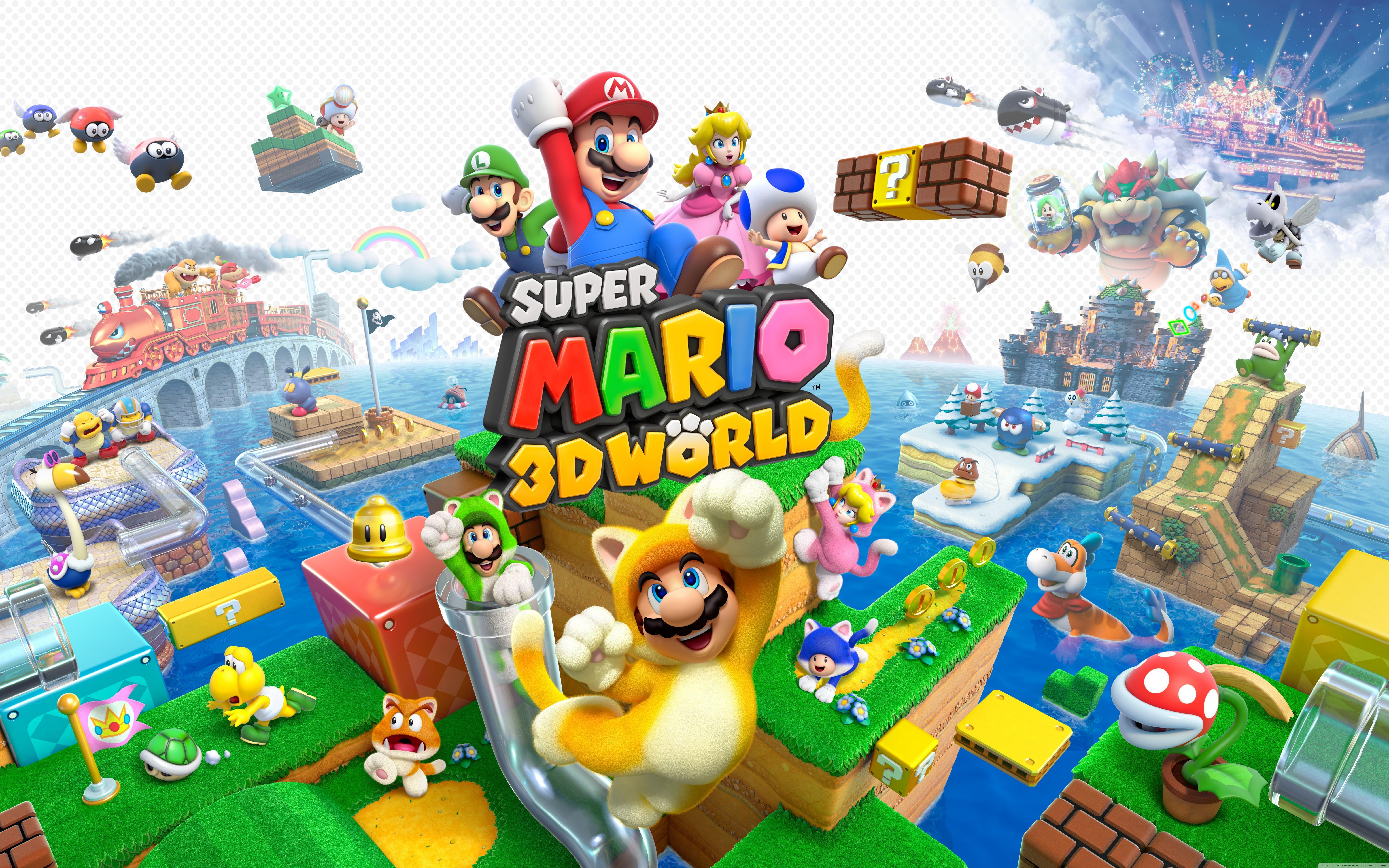 Super Mario 3d World Wallpapers Wallpaper Cave