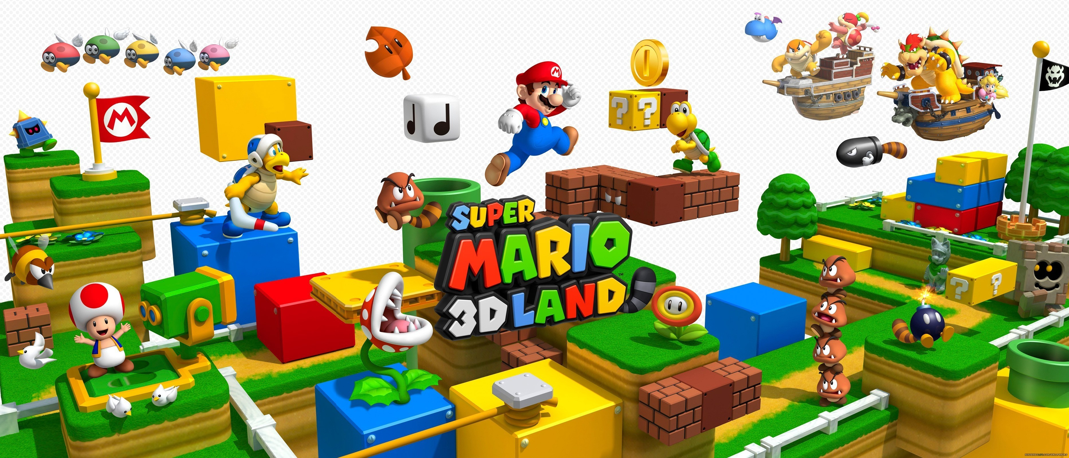 Super Mario 3d World Wallpapers Wallpaper Cave