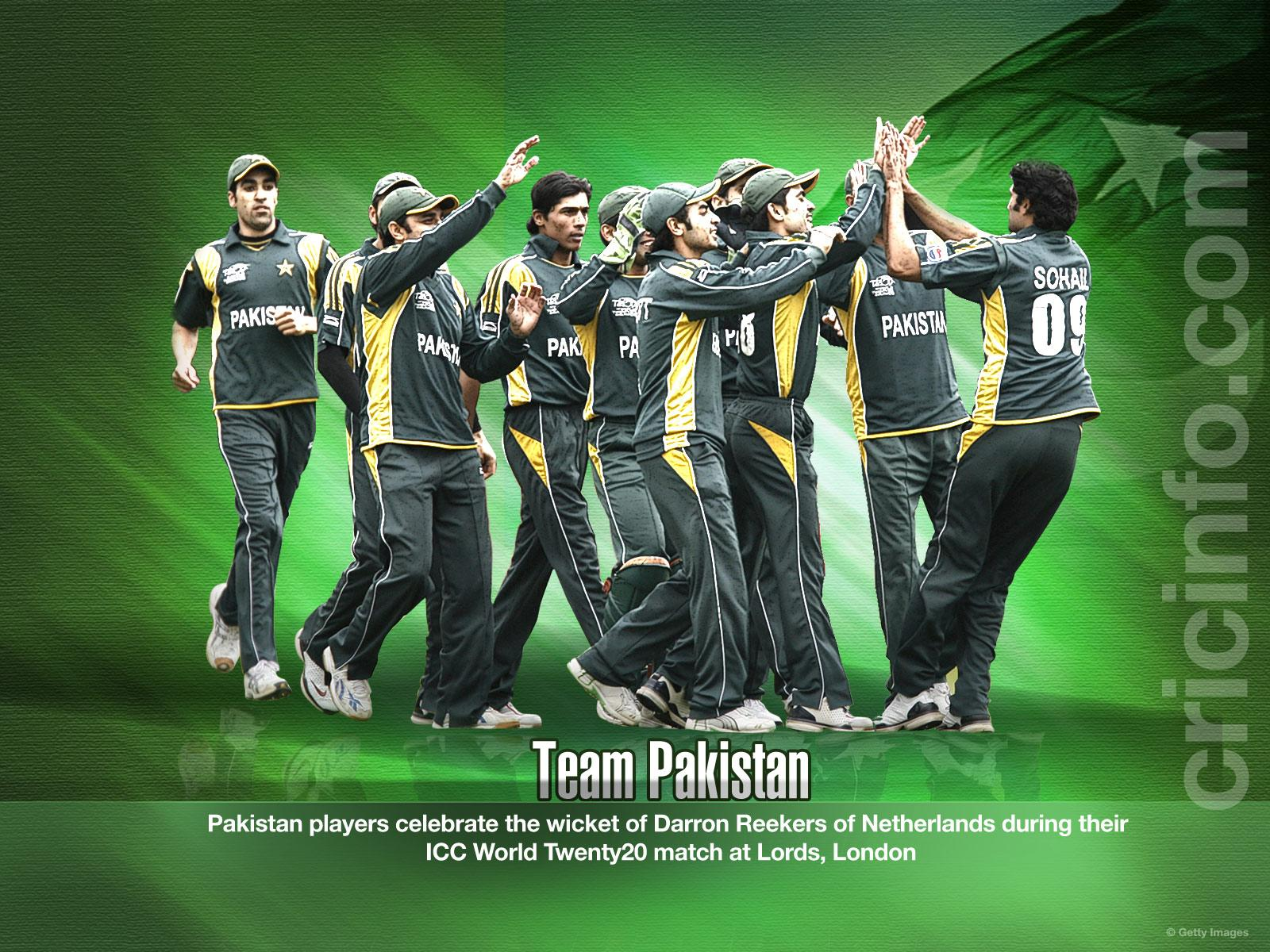 Pakistan Cricket Team Background 7