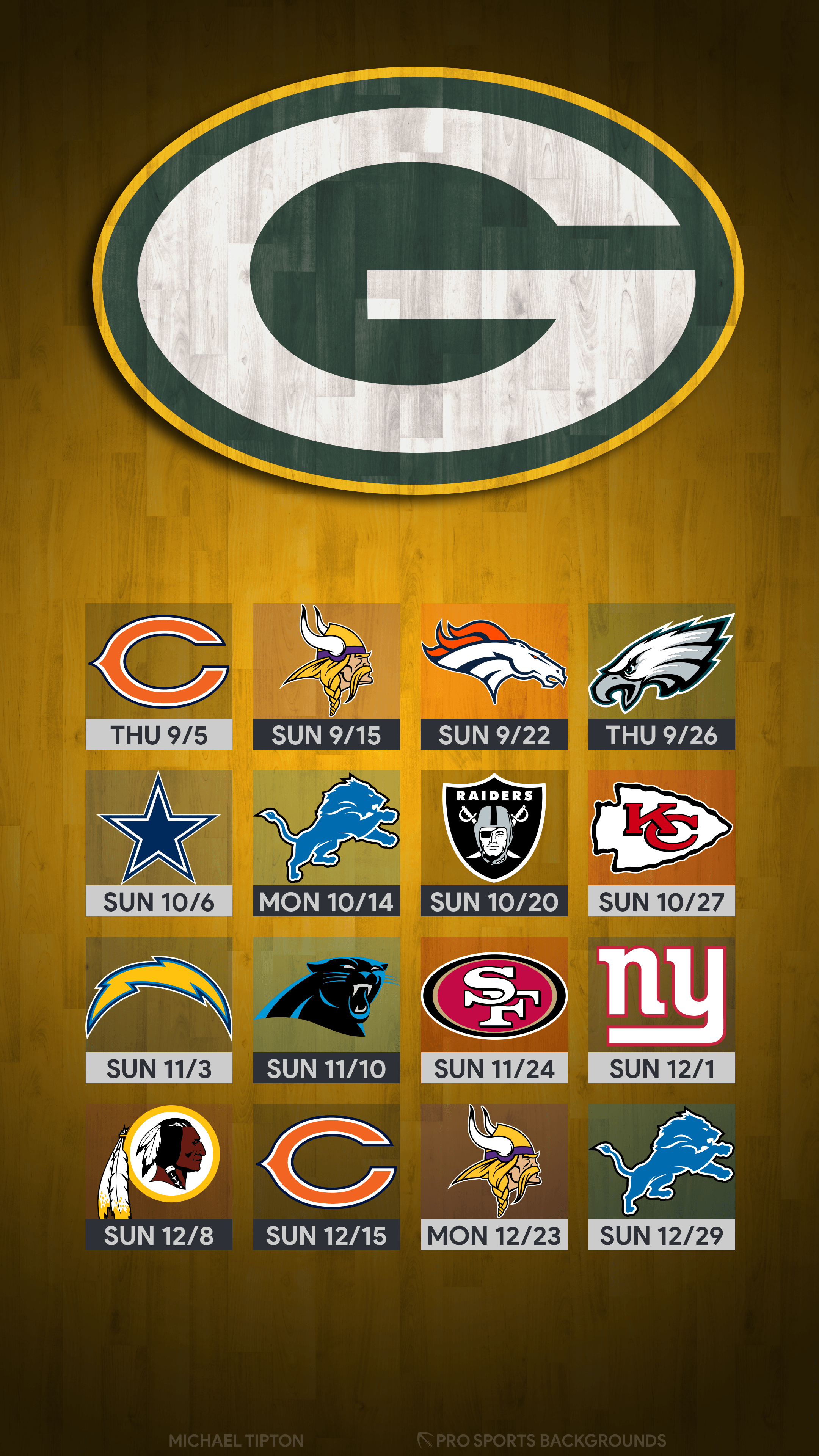 Green Bay Packers 2019 Wallpapers