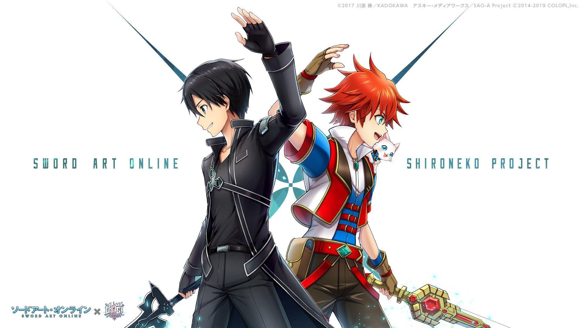 Sword Art Online Crossover Shironeko Project Wallpapers