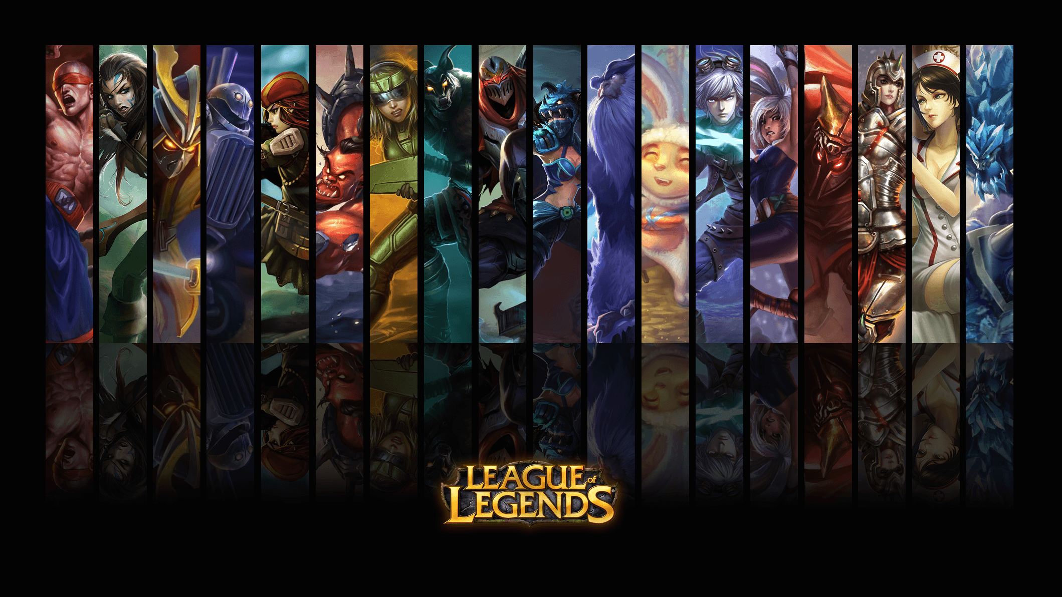 League Of Legends Poster Wallpapers Wallpaper Cave
