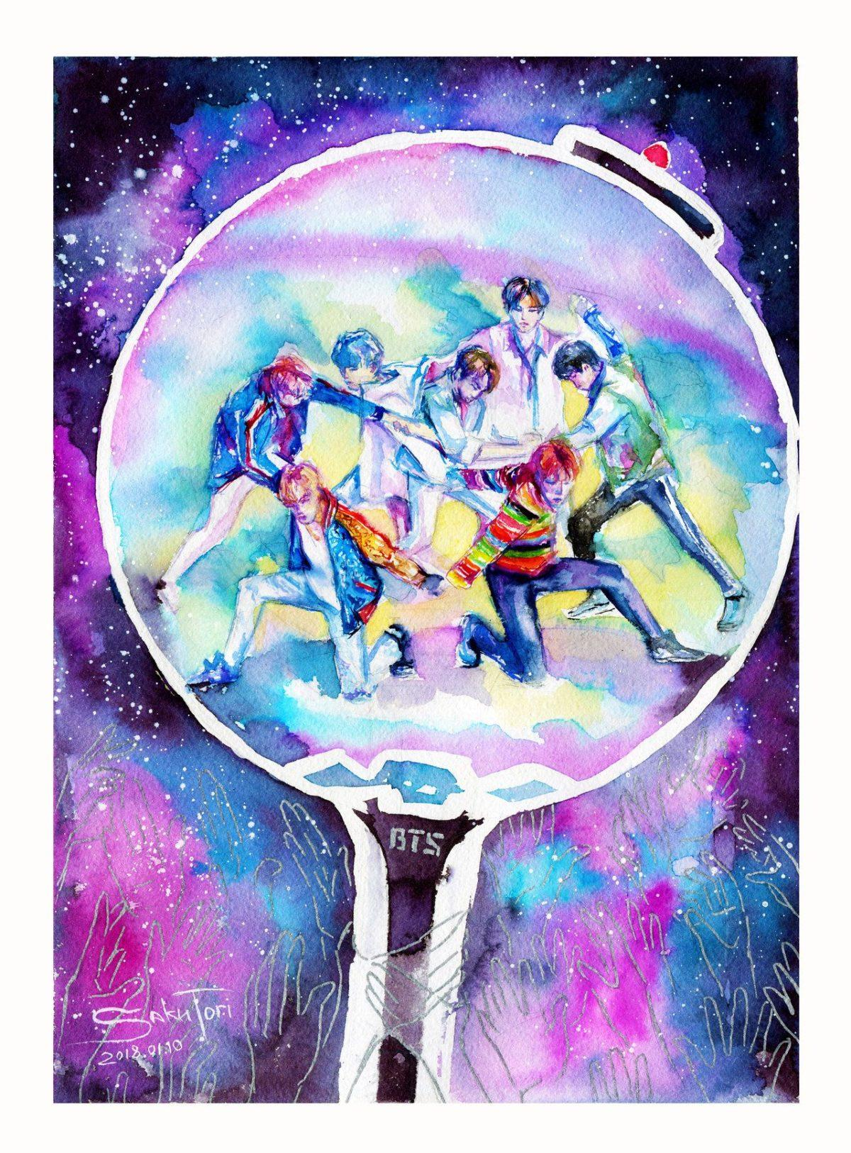 Galaxy Wallpaper Bts Logo Images Logo Keren