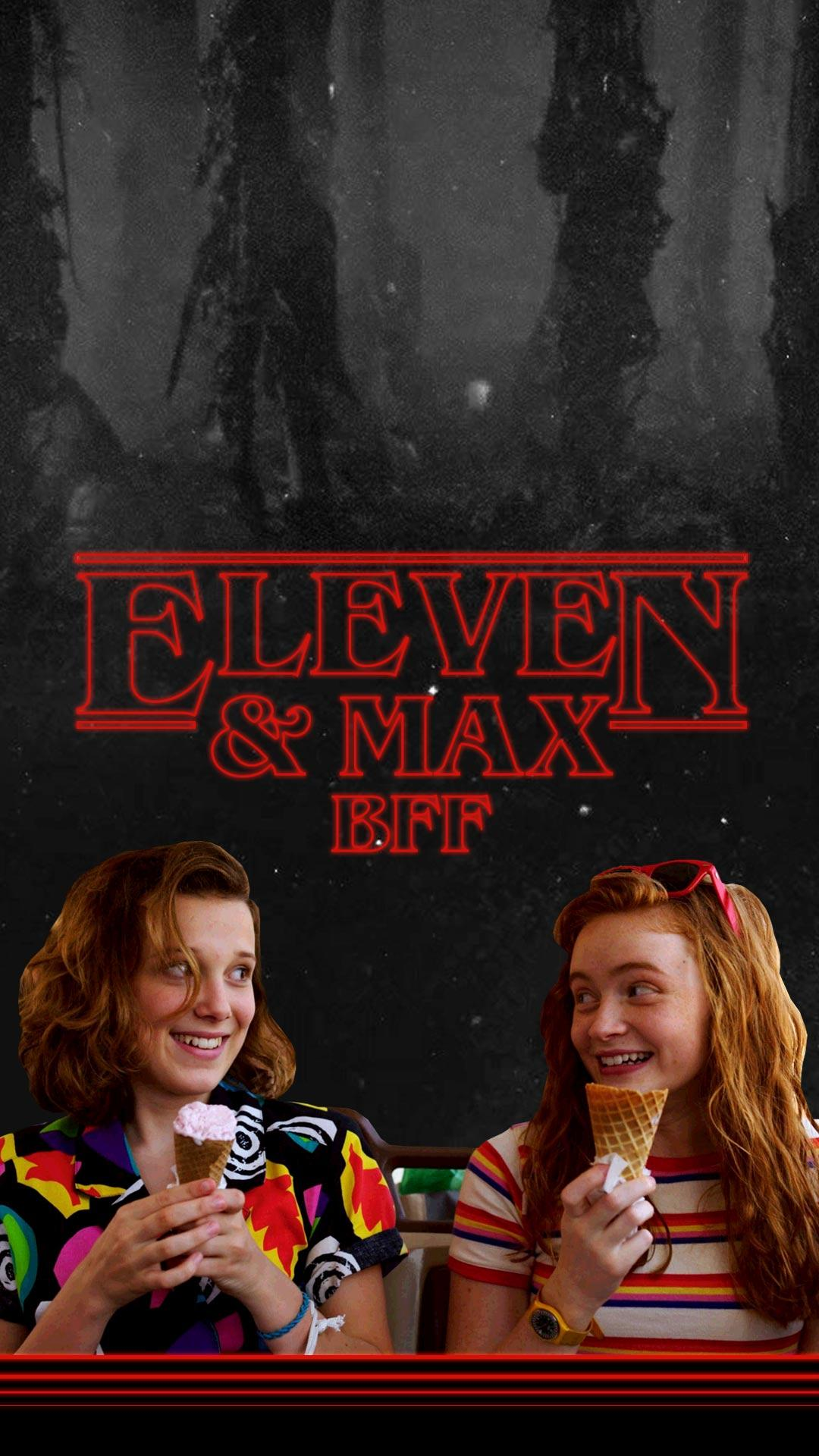 Stranger Things Max And Eleven Wallpapers Wallpaper Cave