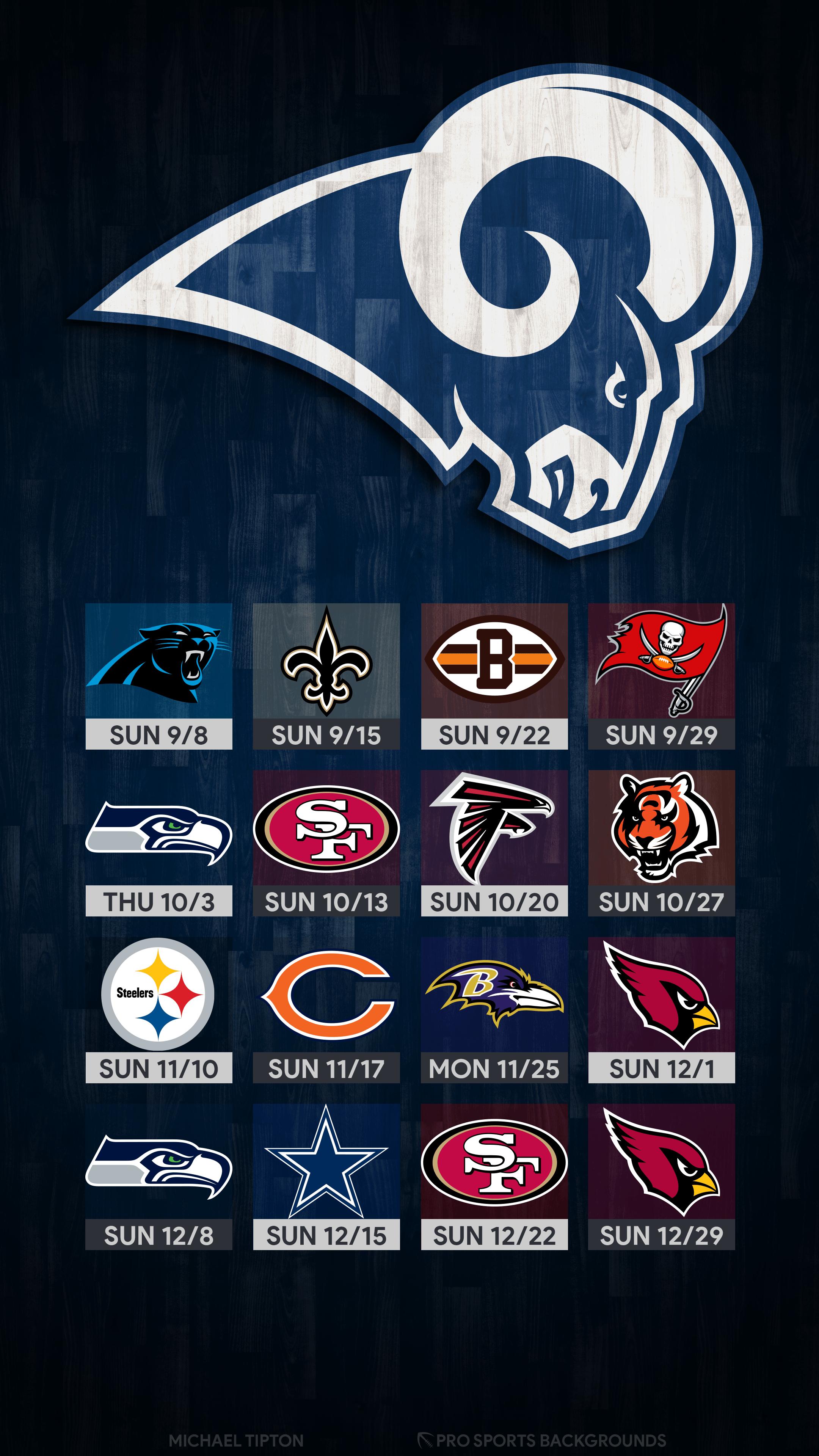 Los Angeles Rams 2019 Wallpapers