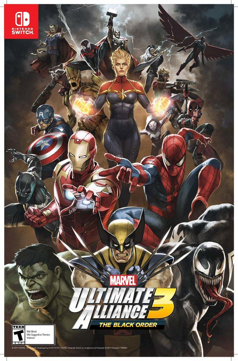 Marvel Ultimate Alliance 3 Spider Man Wallpapers Wallpaper Cave