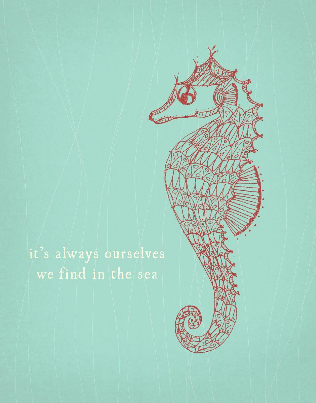 Mermaid And Seahorse Wallpapers Wallpaper Cave