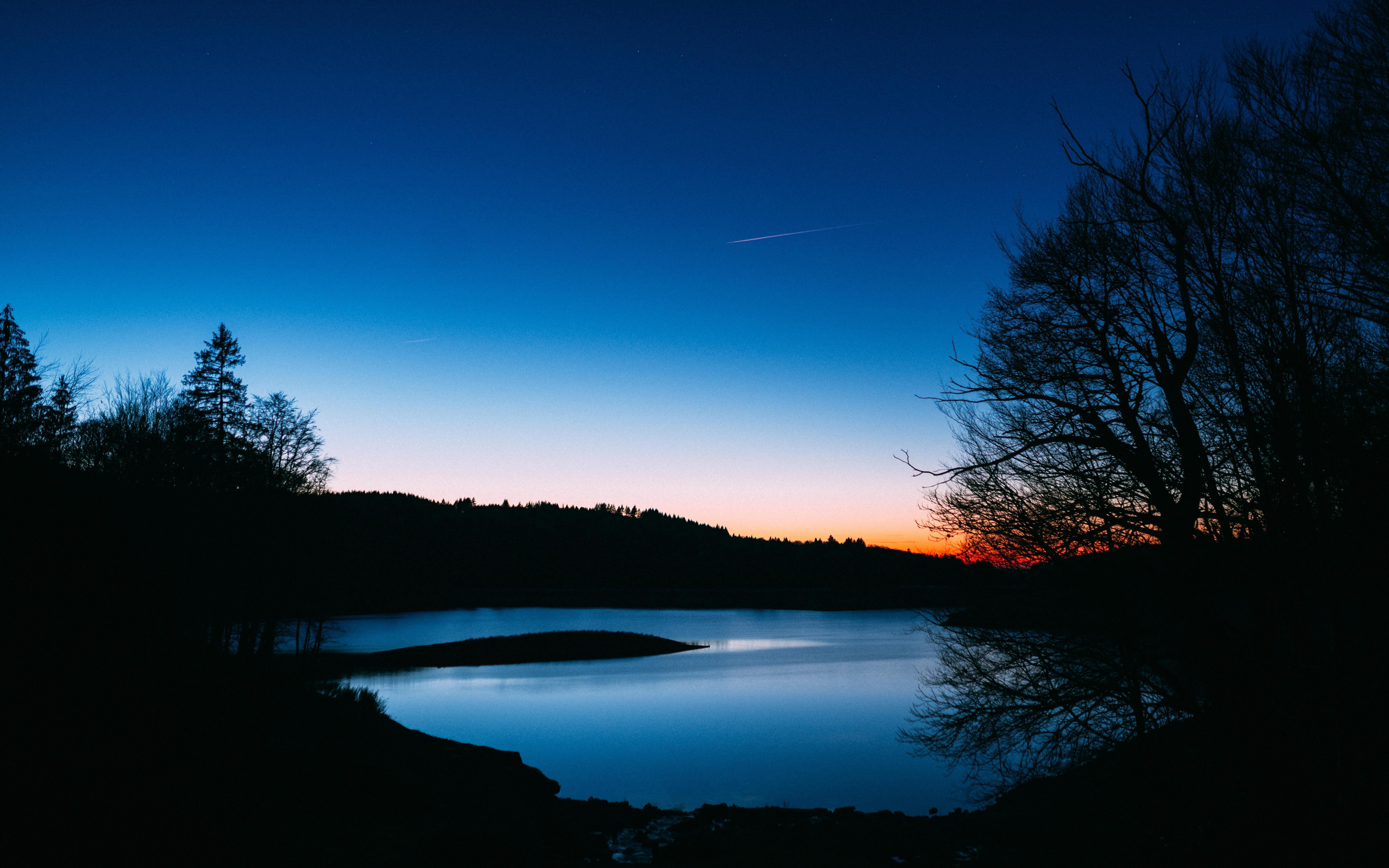 Evening Lake Wallpapers - Wallpaper Cave