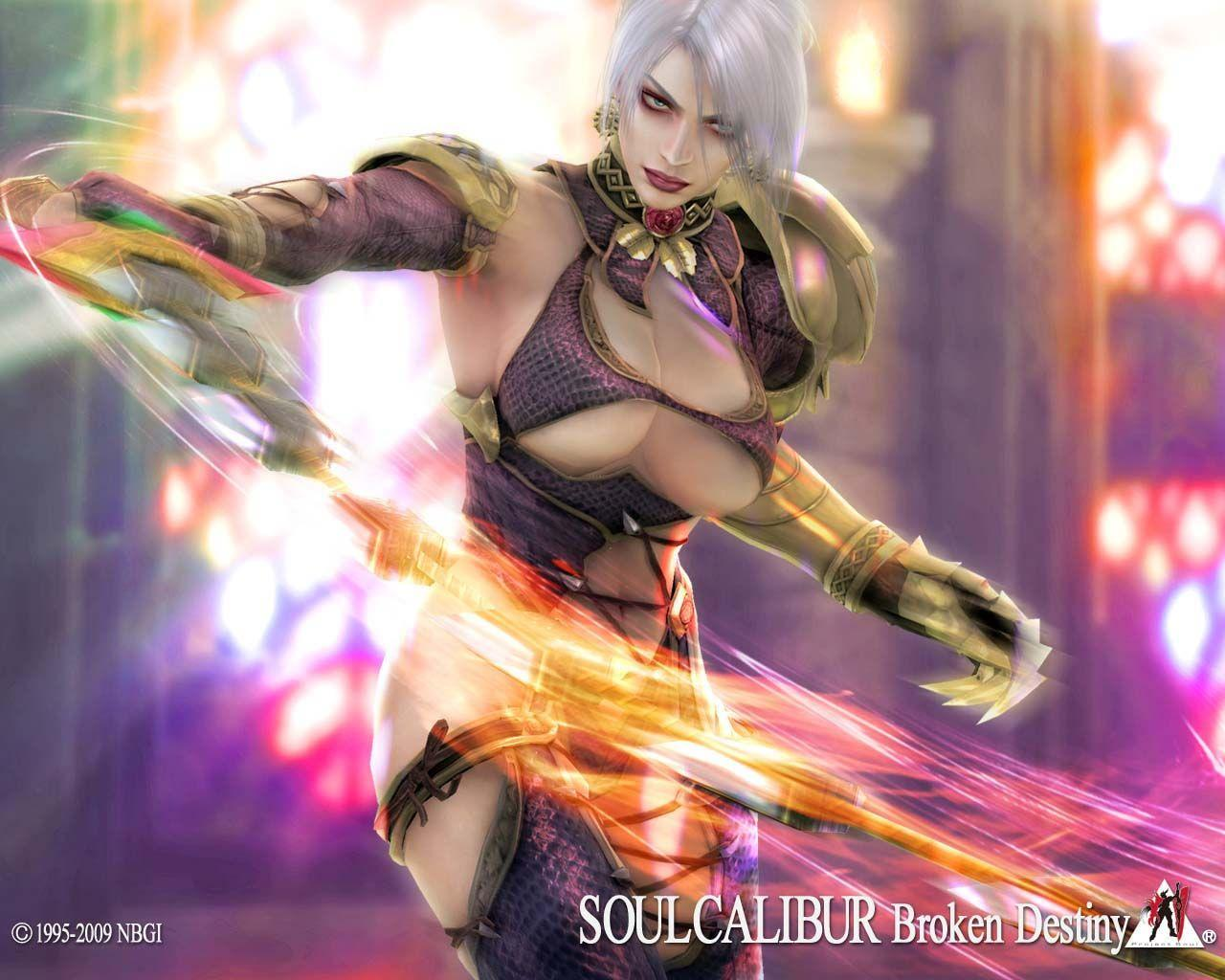 Soul Calibur Broken Destiny Official Wallpapers