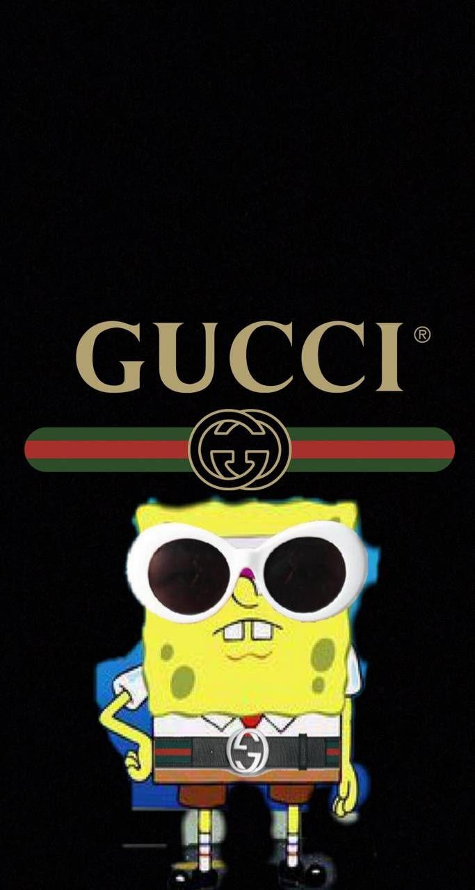 Gucci Spongebob Wallpapers Wallpaper Cave