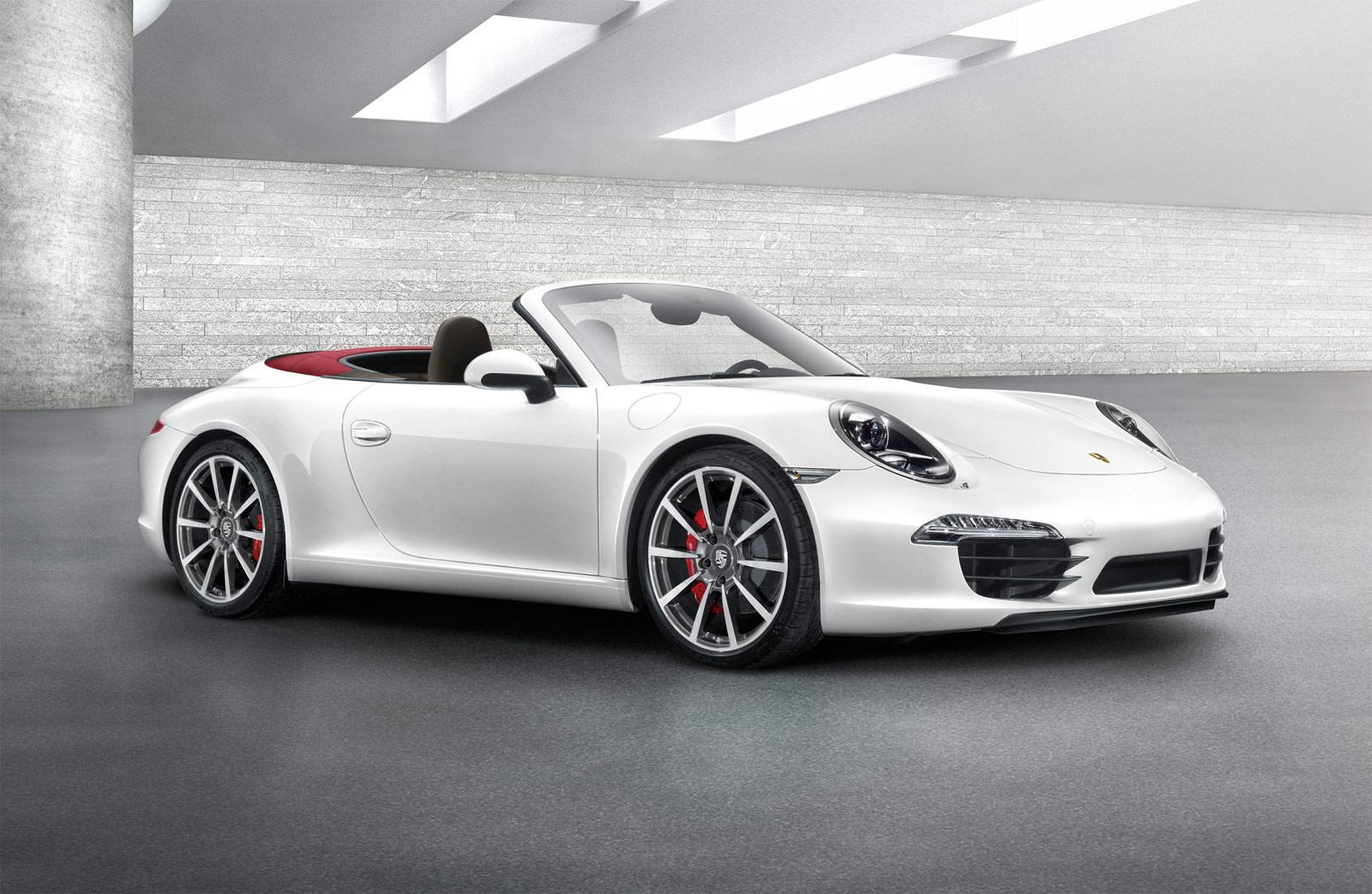 White Porsche 911 Carrera Cabriolet Car Wallpapers Wallpaper Cave
