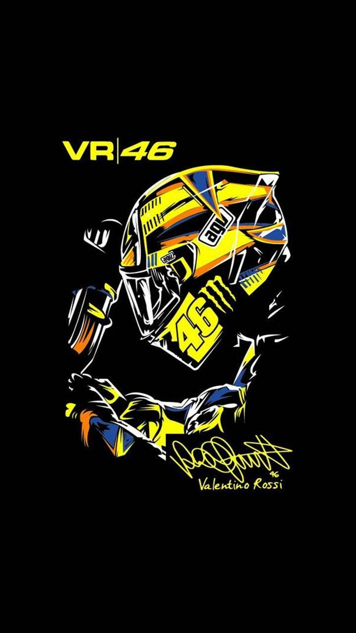 Vr 46 Logo Wallpapers Wallpaper Cave