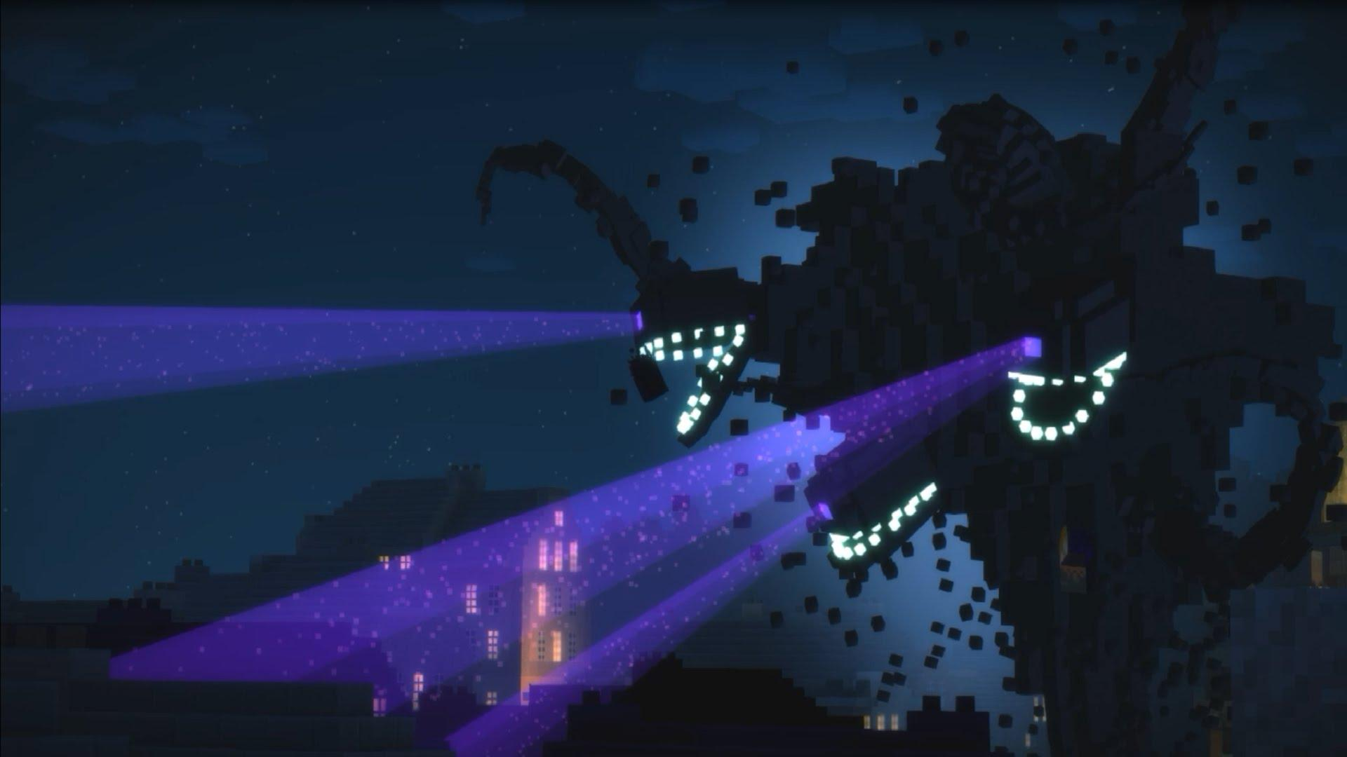 Wither Storm Minecraft Story Mode Wallpaper