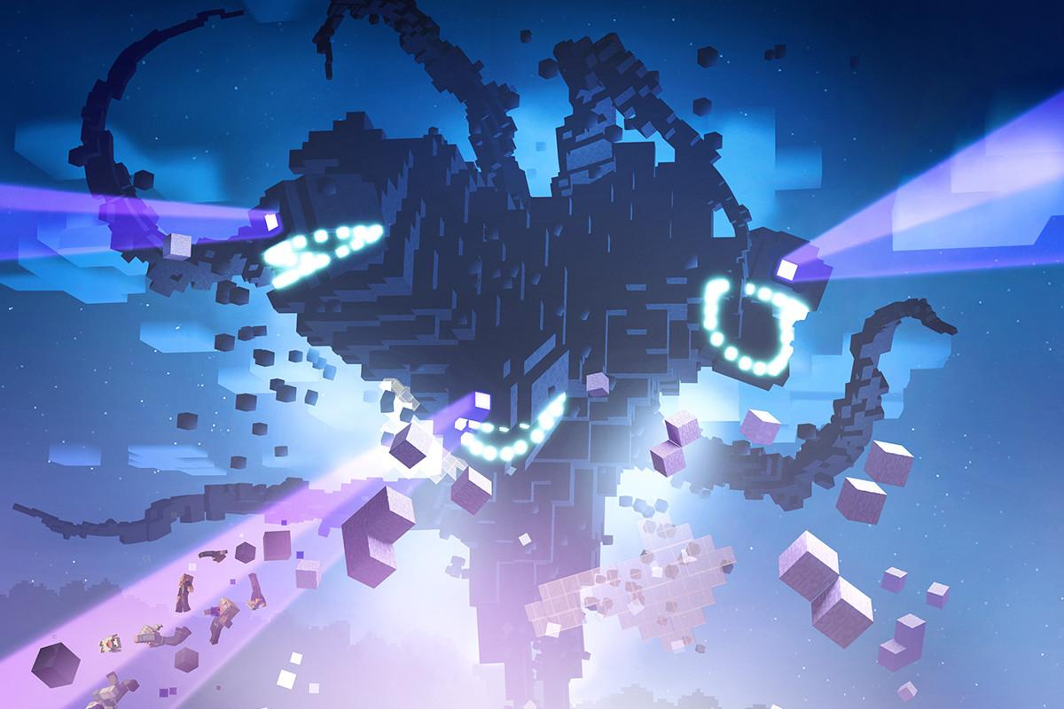 Minecraft Wither Storm Wallpapers Wallpaper Cave