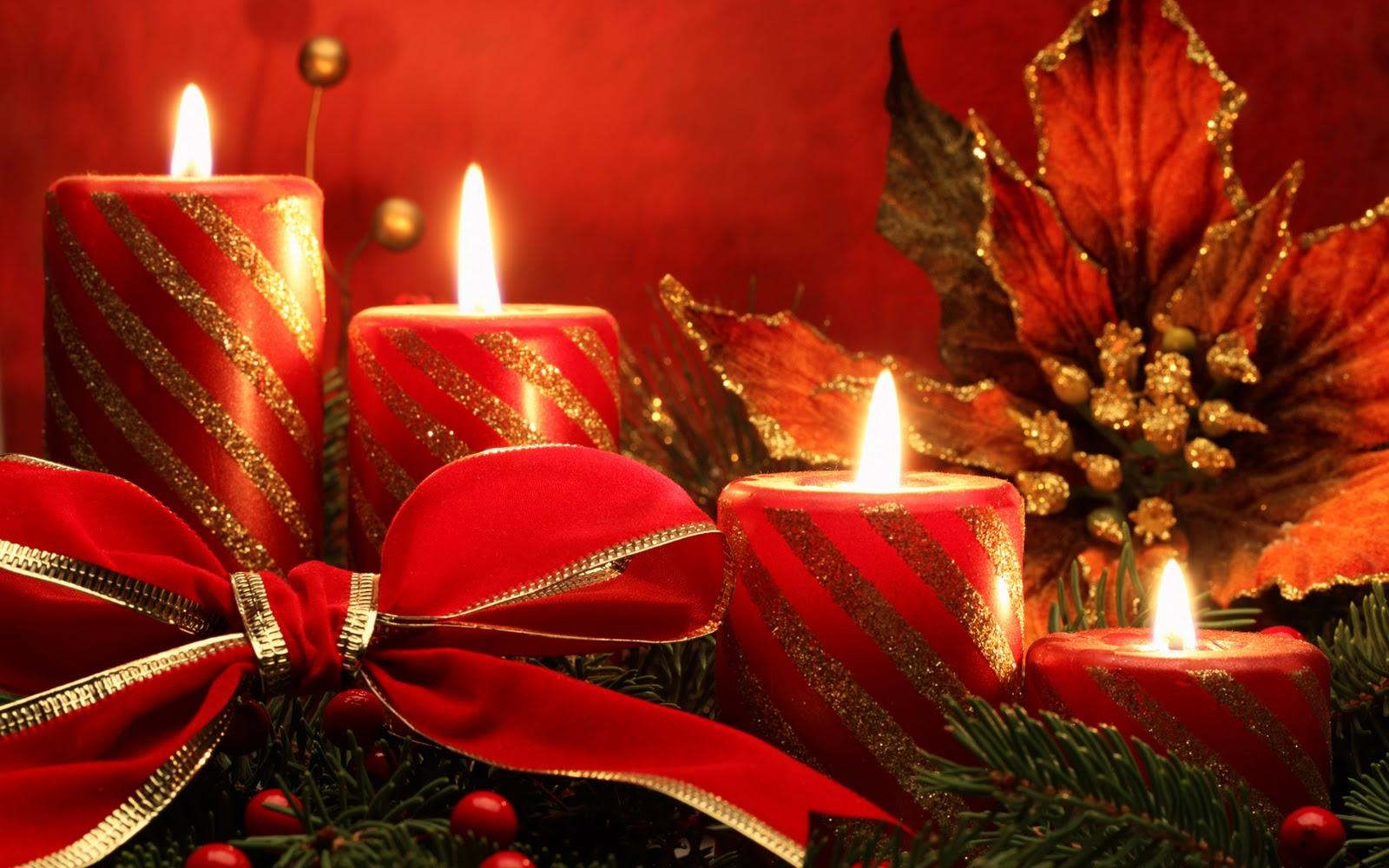 Free Christmas Candles Wallpapers Wallpaper Cave
