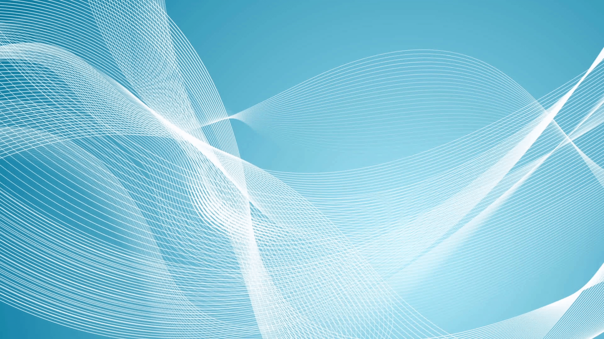 Abstract blue and white wavy lines motion graphic design. Video