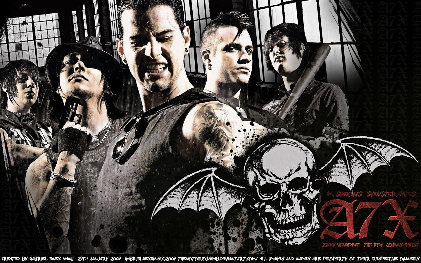Avenged Sevenfold Seize The Day Wallpapers - Wallpaper Cave