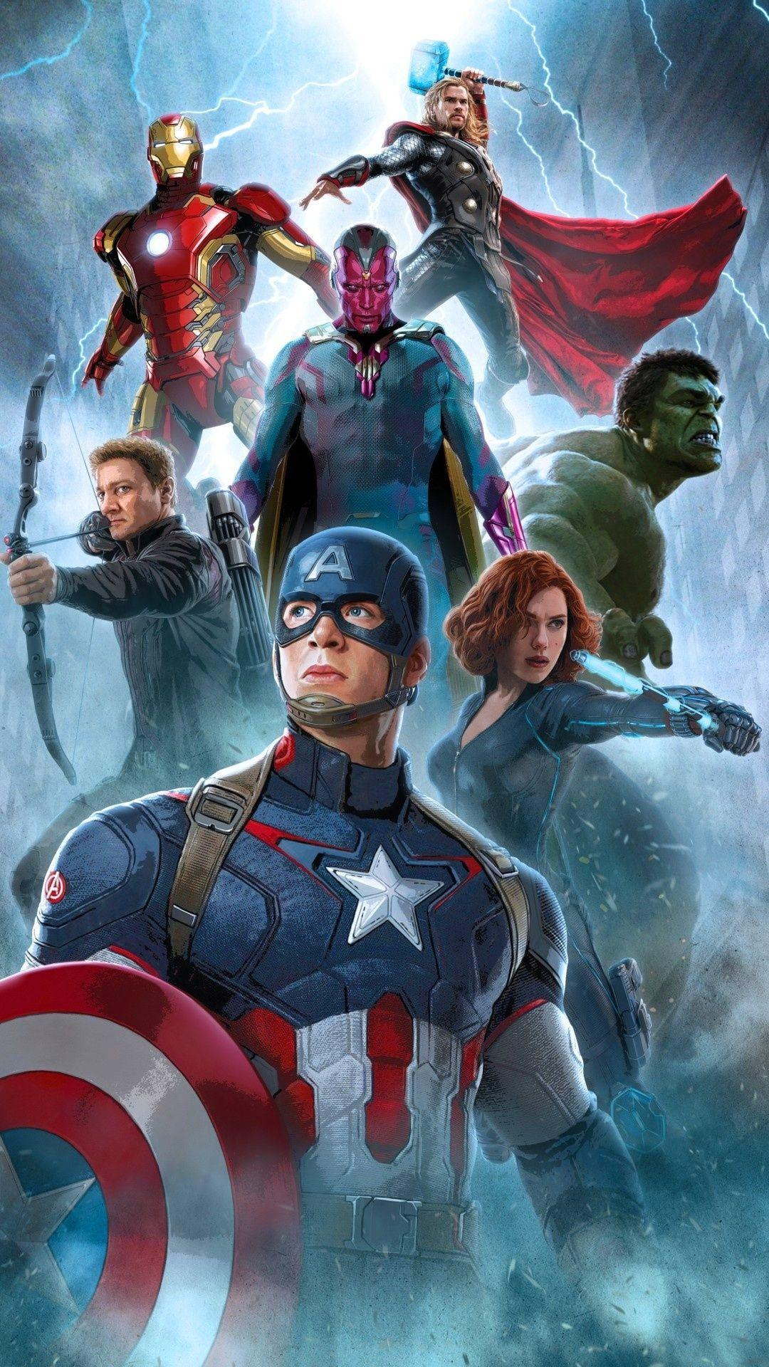 Avengers Full Hd Android Wallpapers Wallpaper Cave