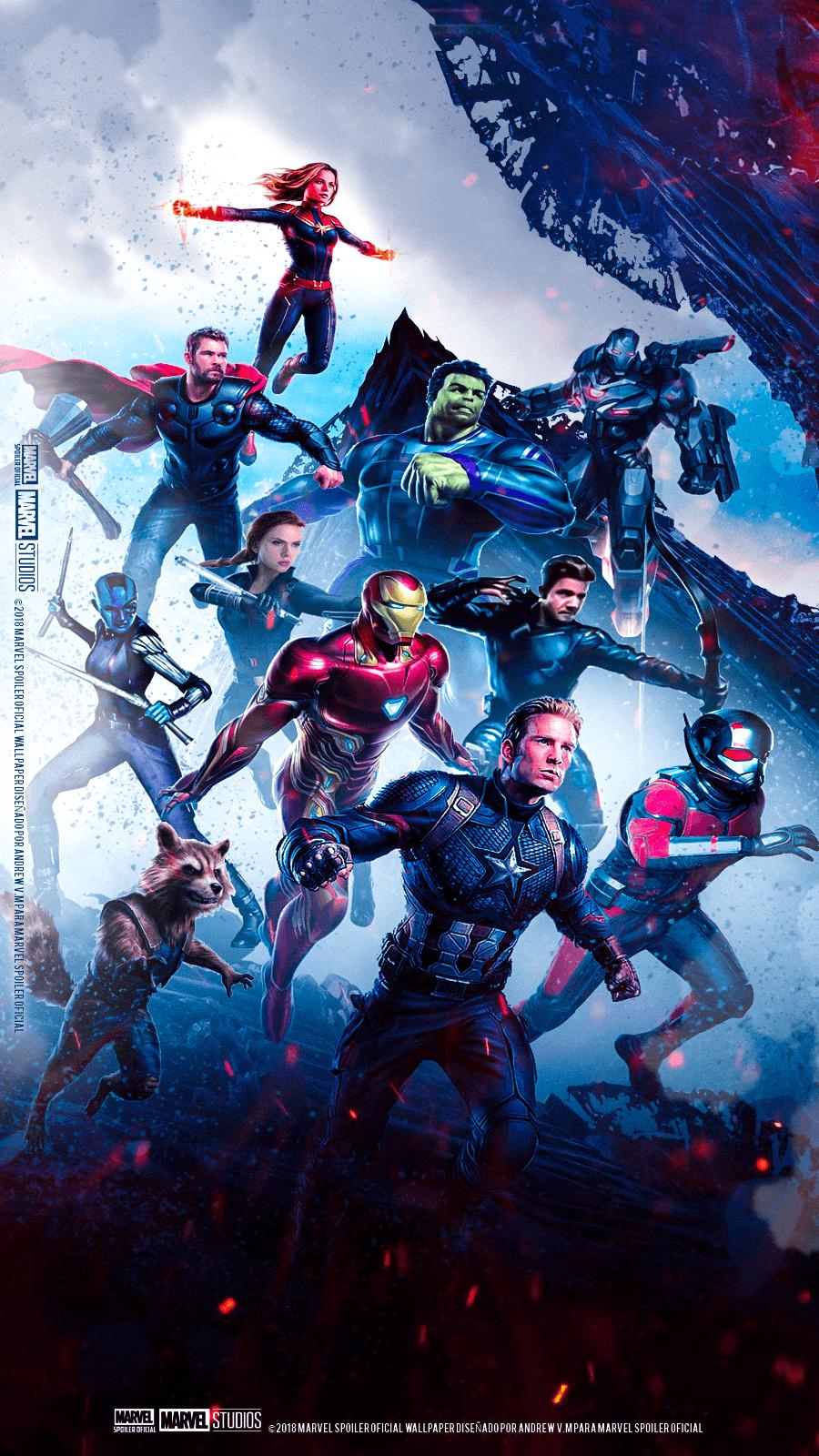 Avengers Wallpaper Iphone Endgame