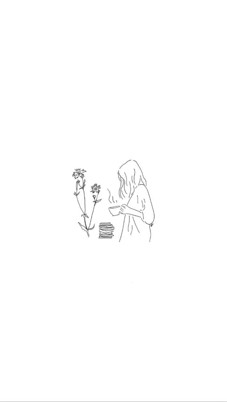 Minimalist Drawing Aesthetic Wallpapers Wallpaper Cave