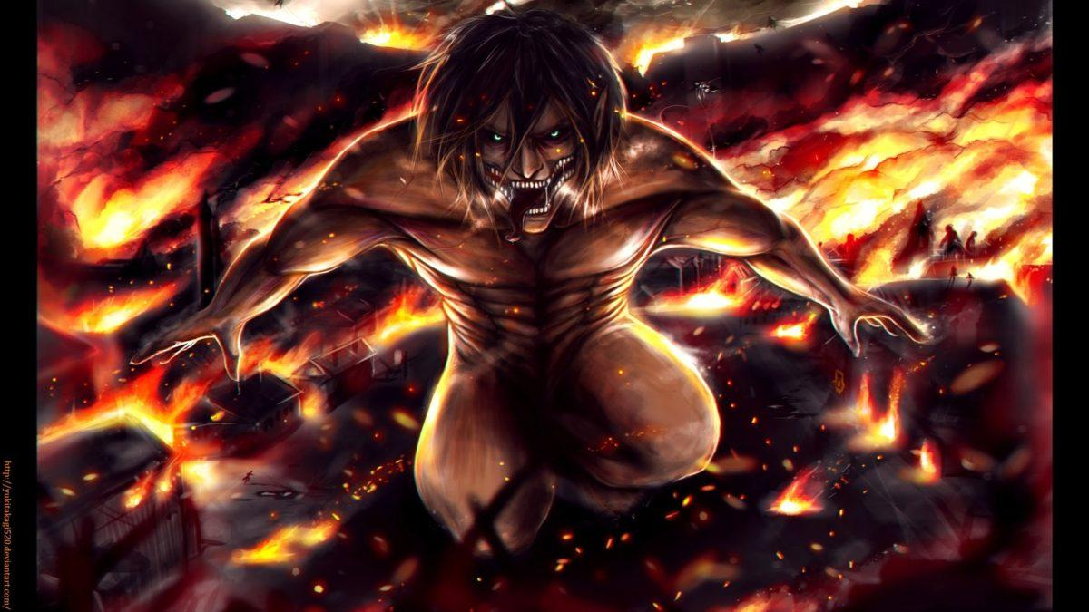 Attack On Titan Eren Wallpapers 1080p Eren yeager jaeger rogue titan