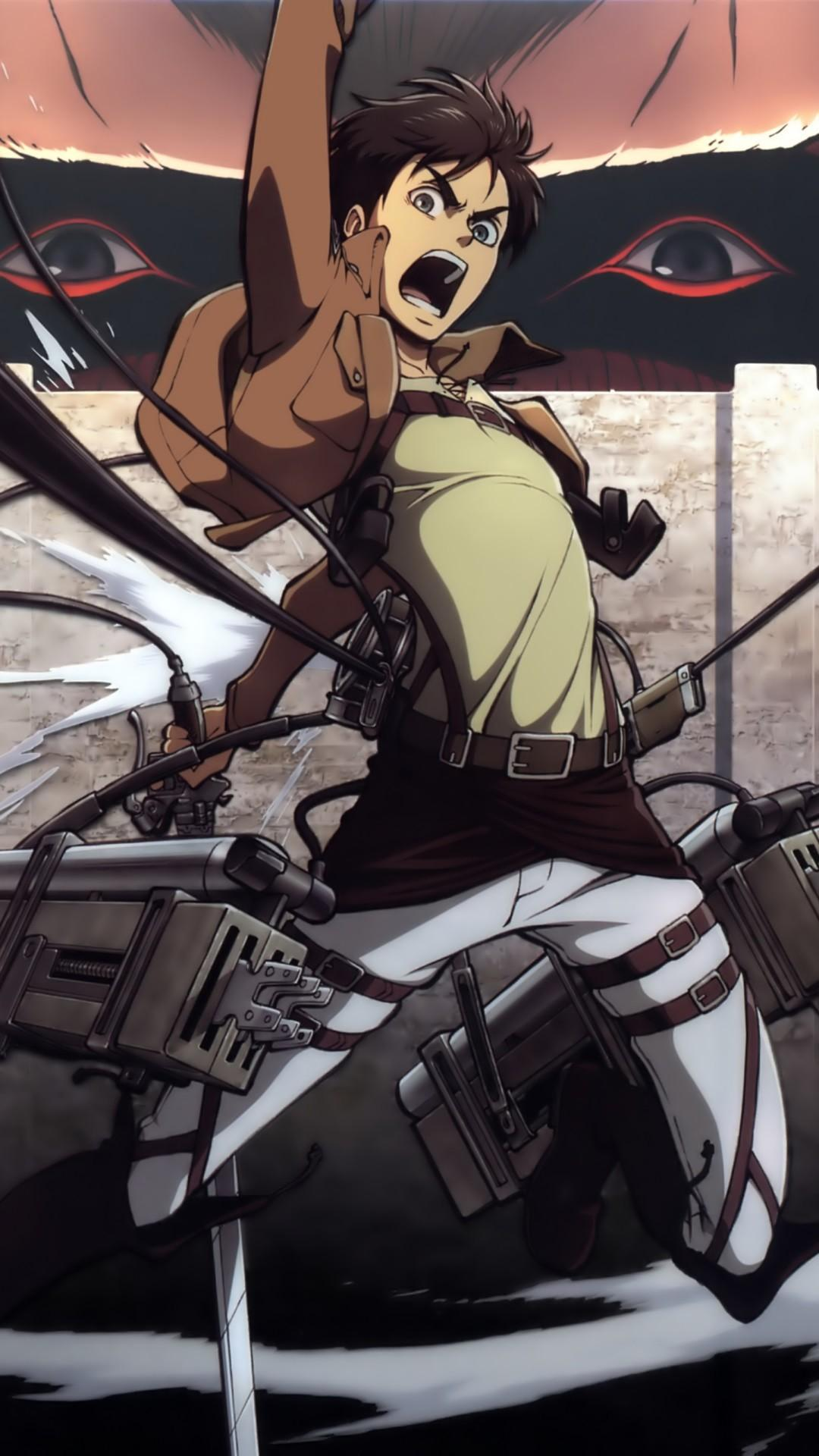 Attack on Titan iPhone Wallpapers