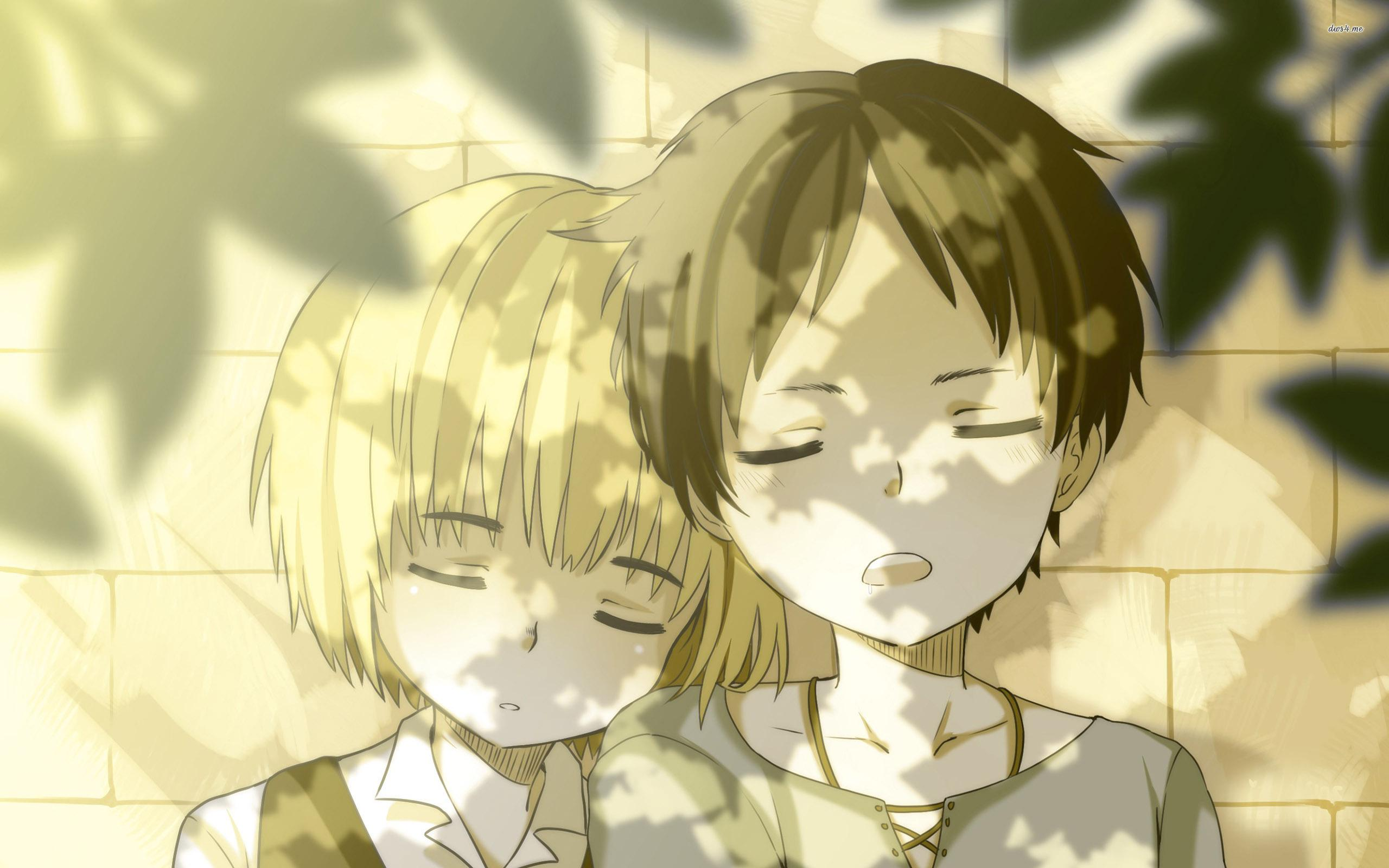 Armin Arlert and Eren Yeager