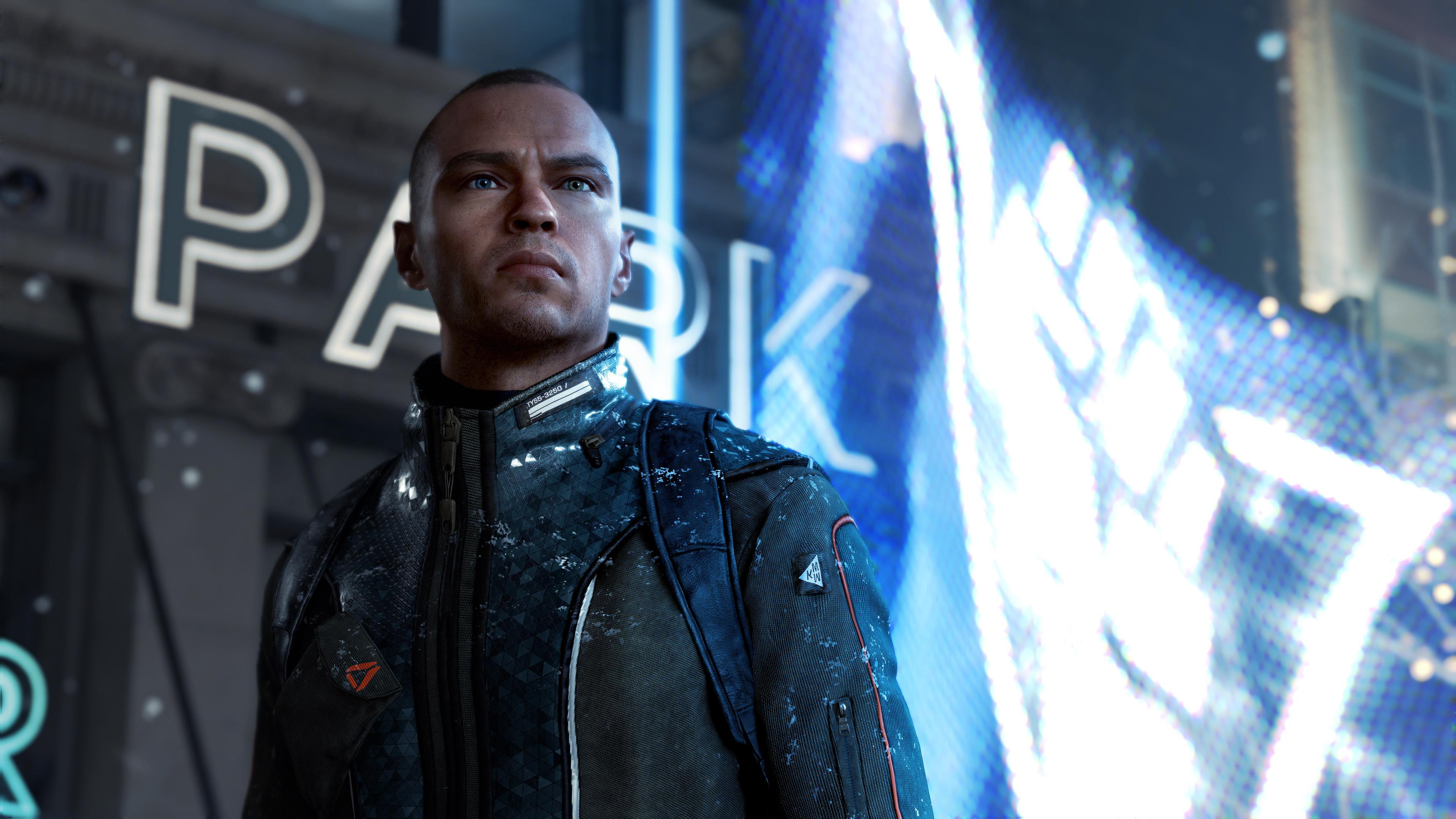 Markus Detroit Become Human 4k, HD Games, 4k Wallpapers, Image