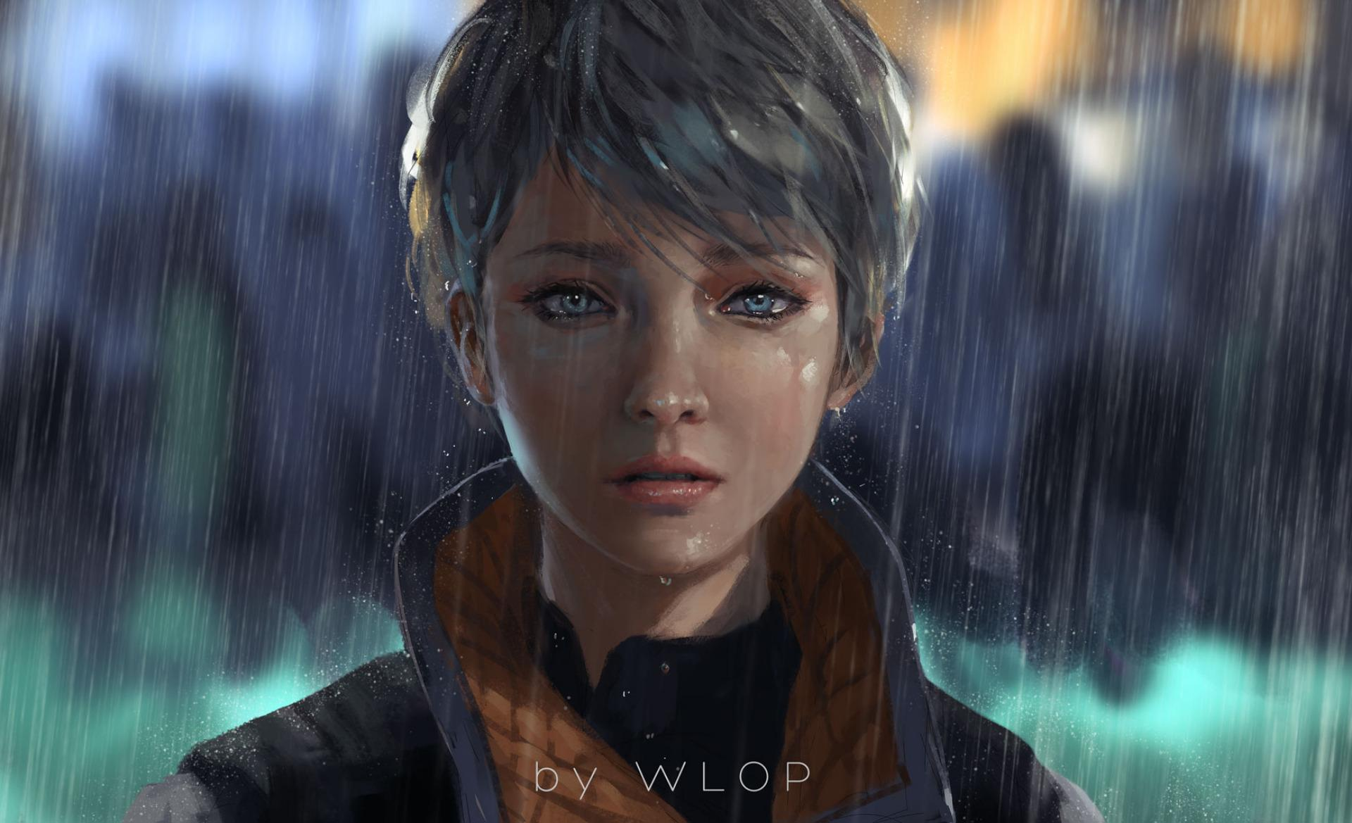 Kara Detroit Become Human Artwork, HD Games, 4k Wallpapers, Image