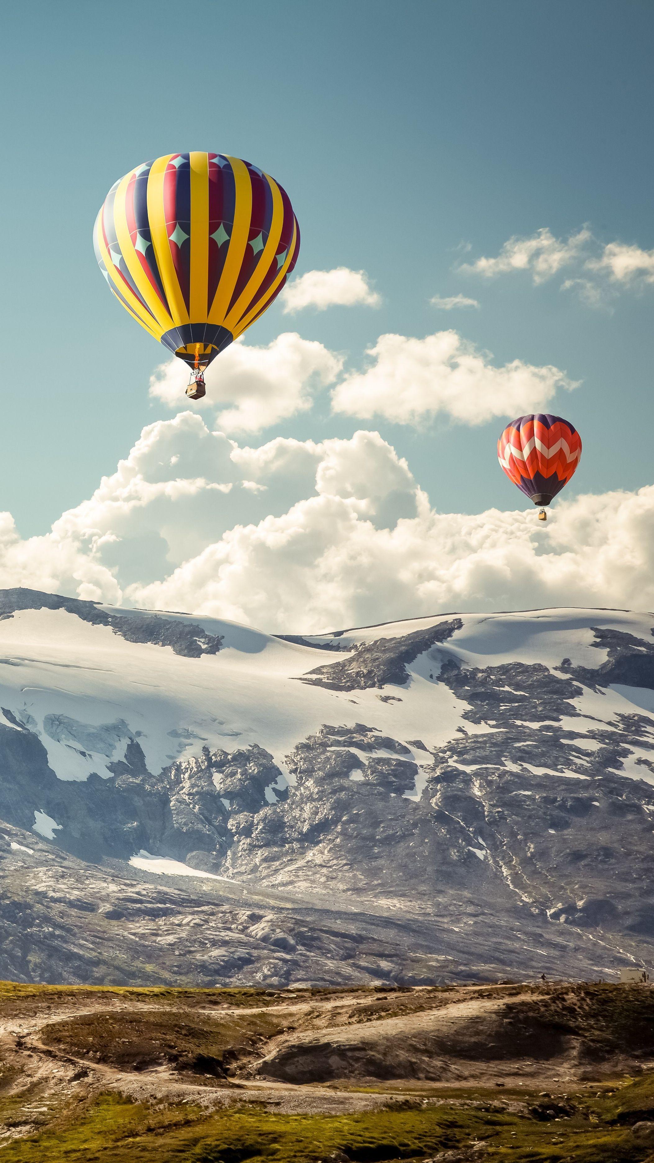 Hot Air Balloon Nature Iphone Xs Max Wallpapers Wallpaper Cave