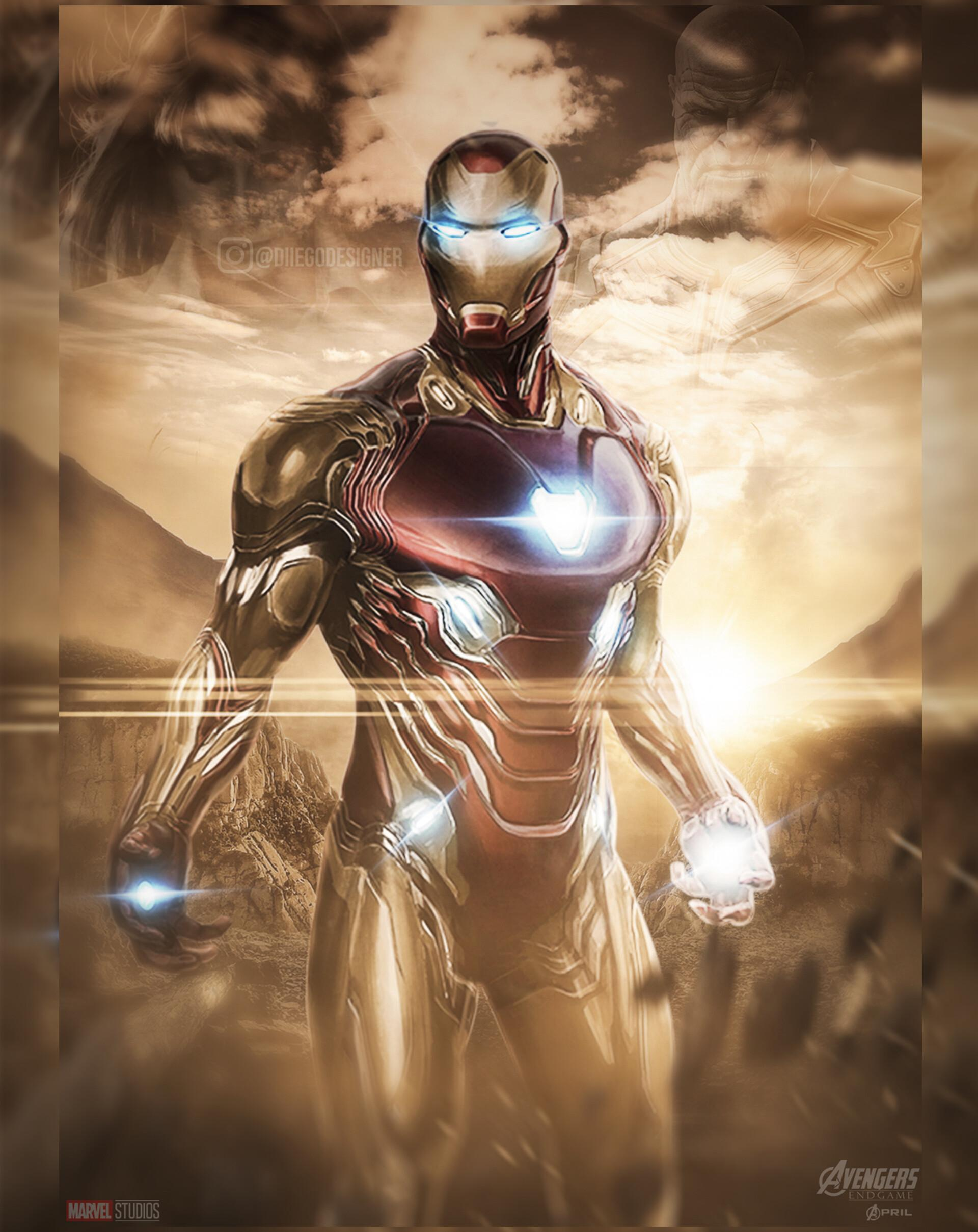 Iron Man Mark 85 Iphone Wallpapers Wallpaper Cave