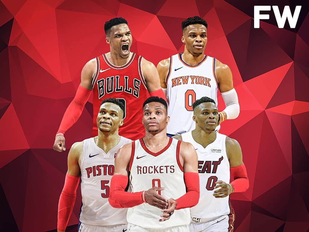 Russell Westbrook Houston Rockets Wallpapers Wallpaper Cave