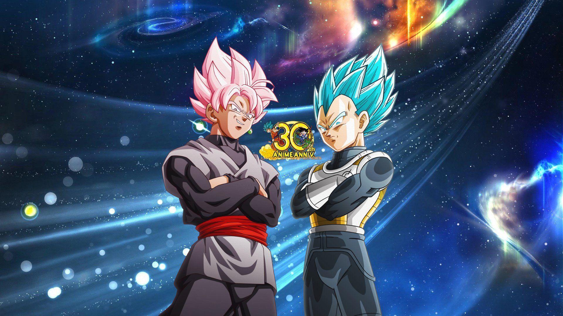 Goku Black Vs Vegeta Wallpaper Hd