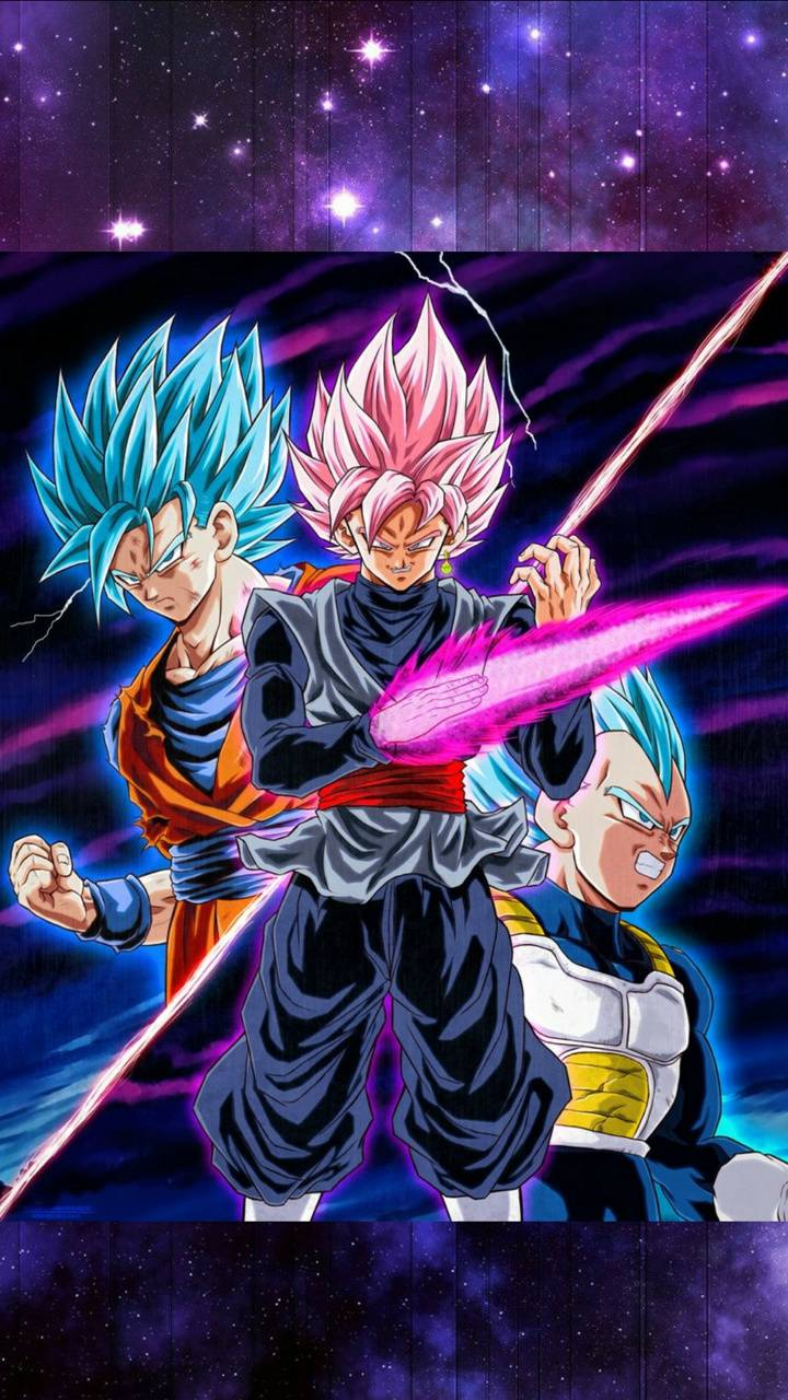 Goku Black Vs Vegeta Wallpapers Wallpaper Cave