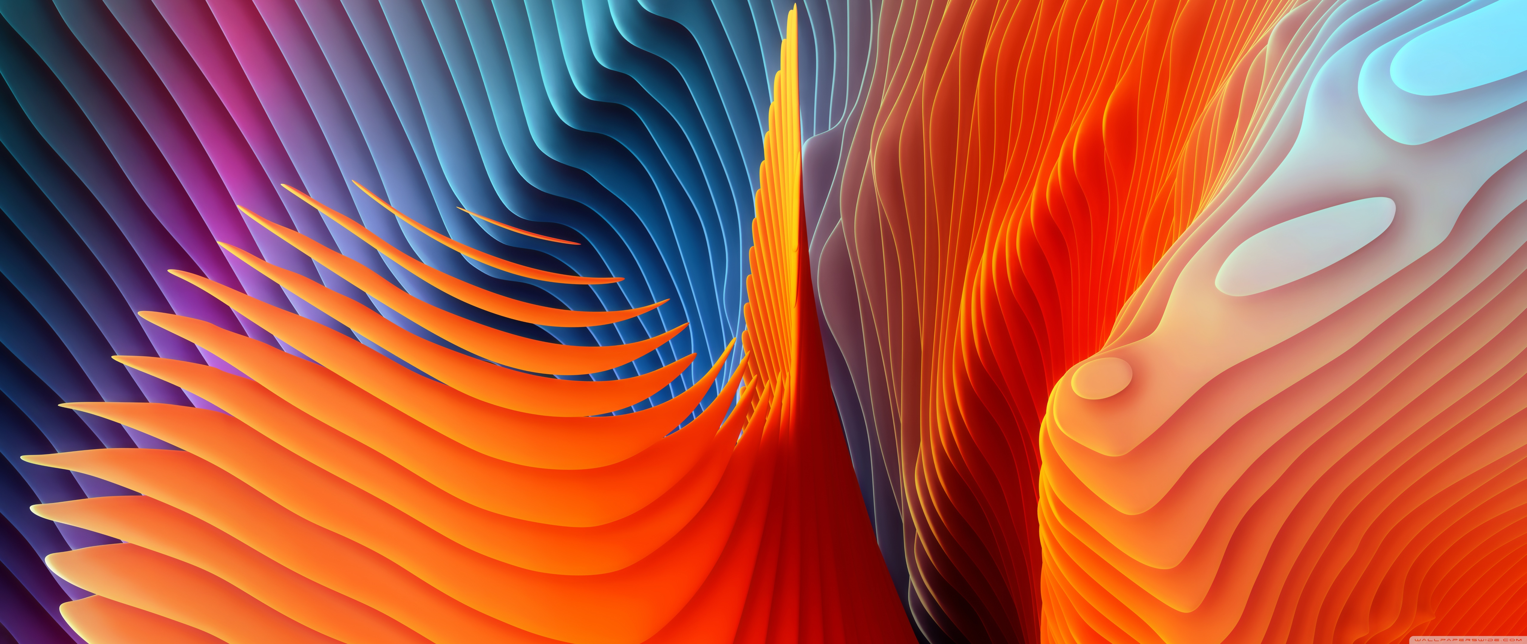 Colorful Abstract Waves 4K Wallpapers - Wallpaper Cave