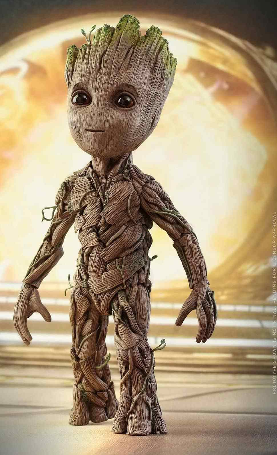 Baby Groot Cute Hd Wallpaper Ilmu Pengetahuan 7