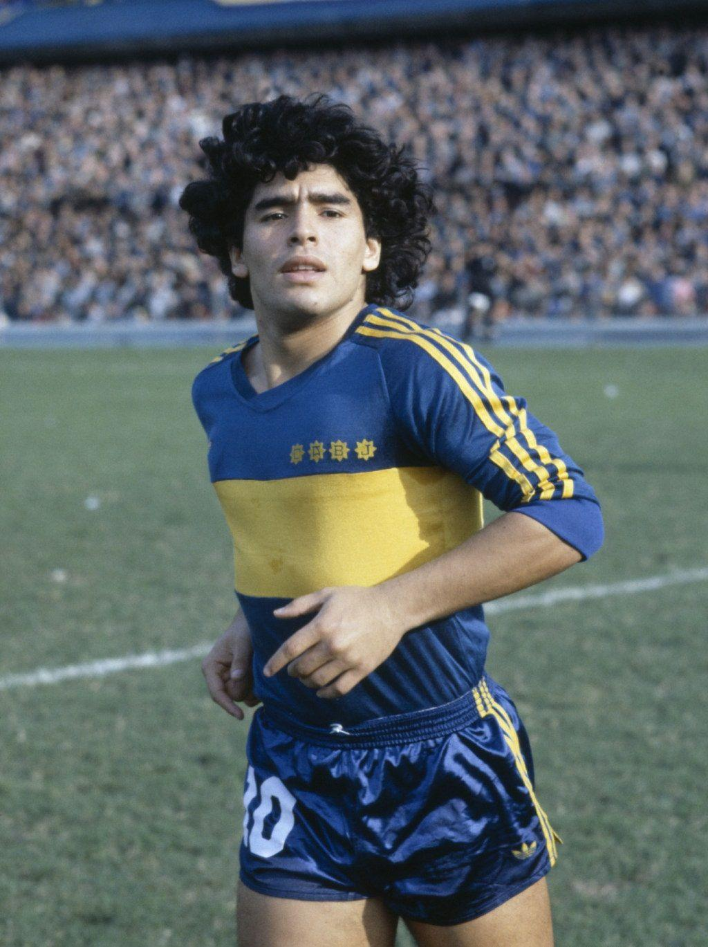 Maradona Boca Juniors Wallpapers Wallpaper Cave