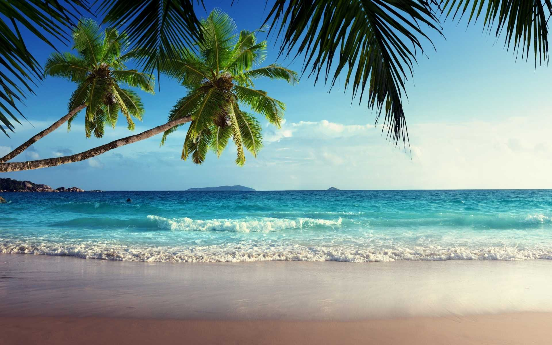 Tropical Beach Landscape Wallpapers