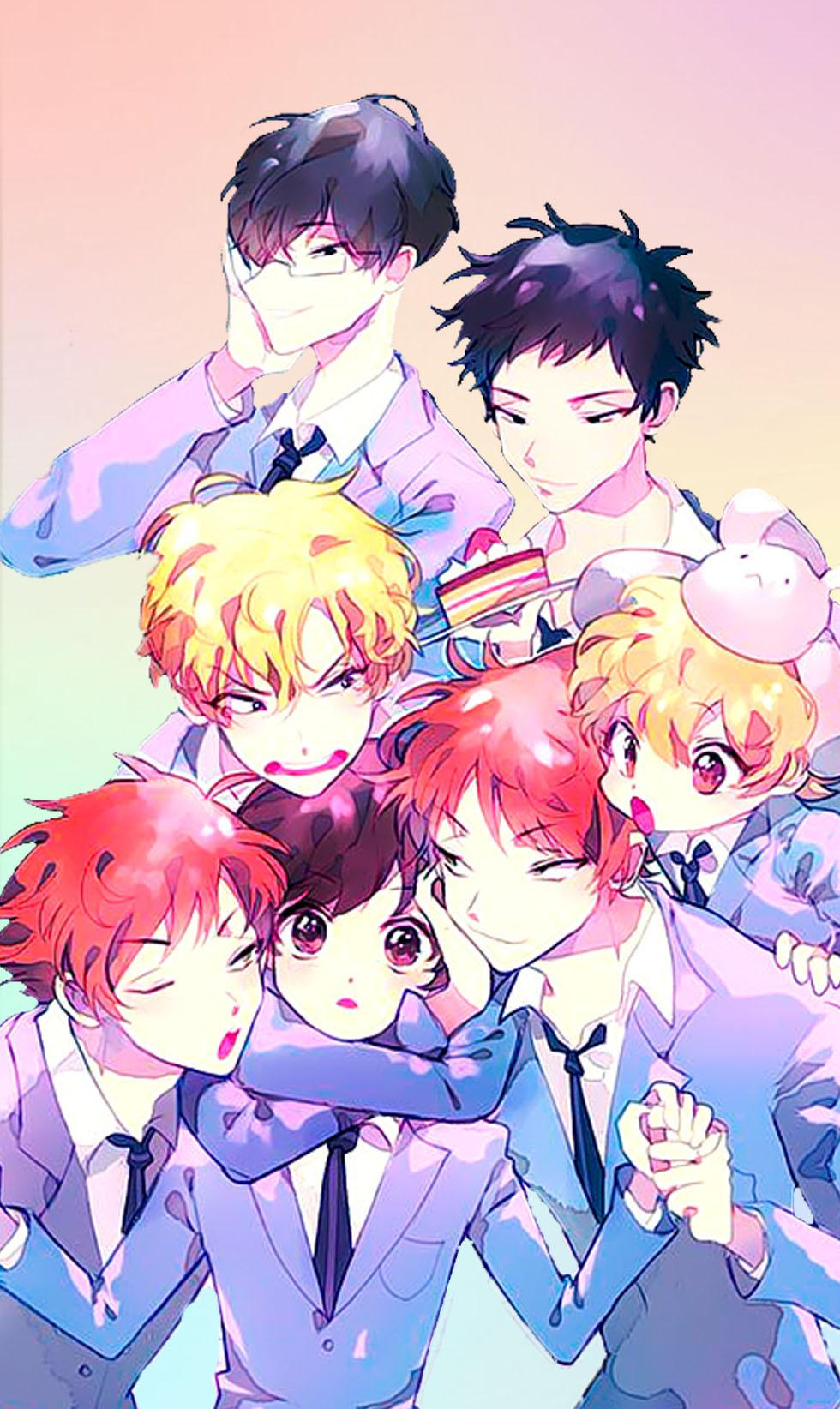 Ouran High School Host Club Phone Wallpapers Wallpaper Cave