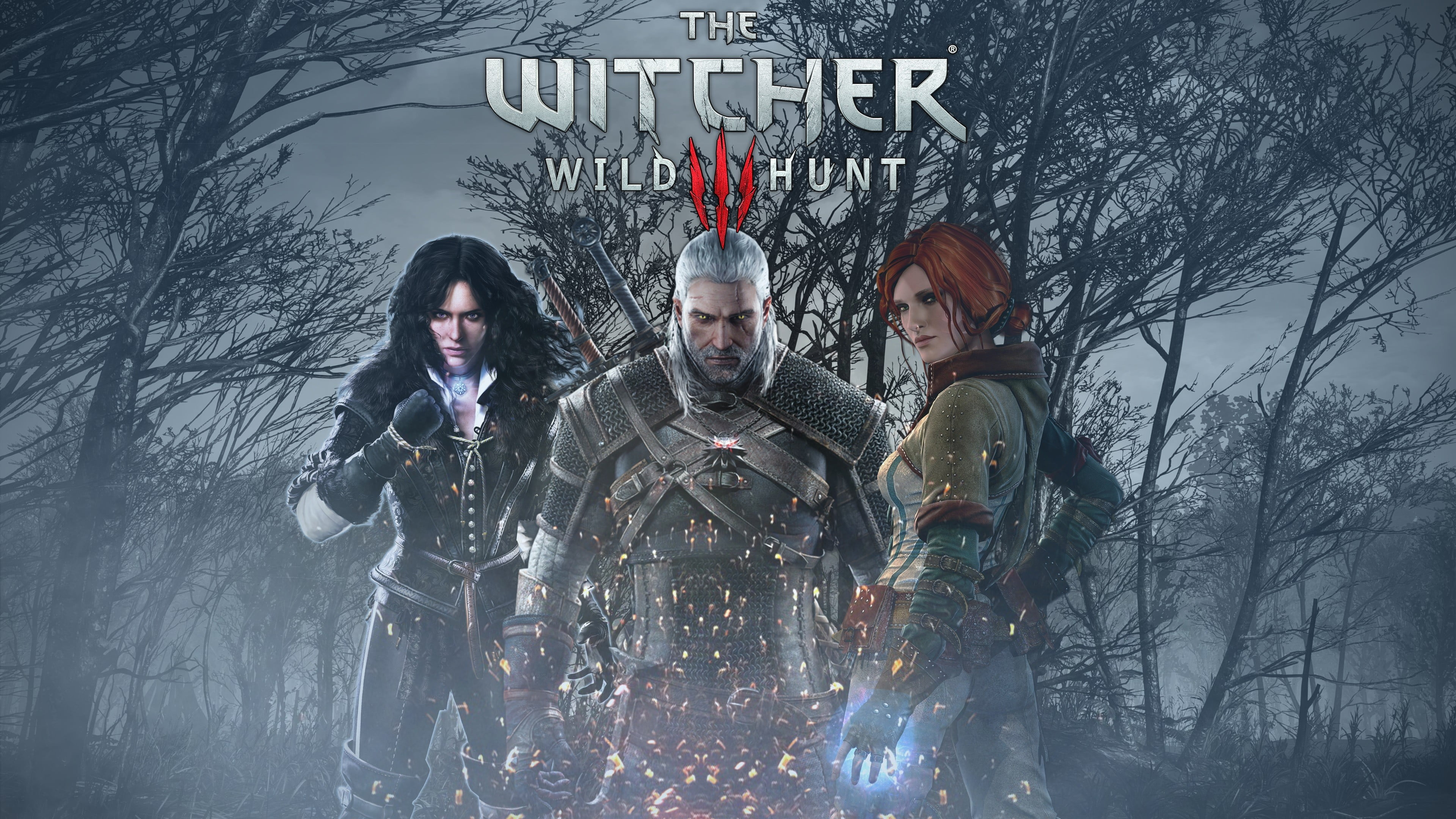 The Witcher 3 Wild Hunt Poster Wallpapers - Wallpaper Cave