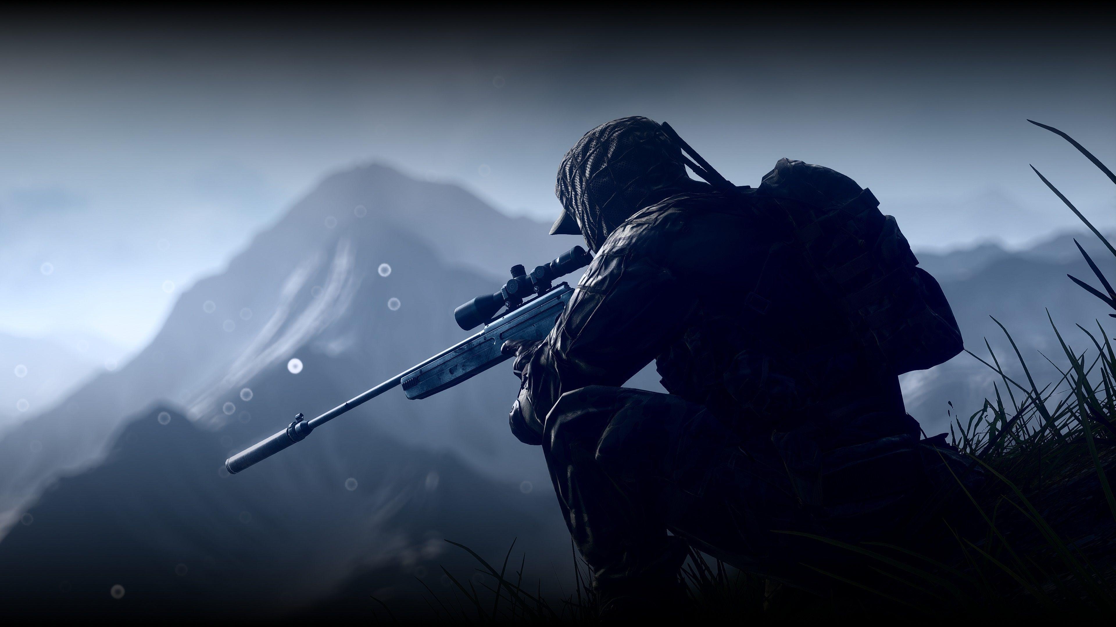 Картинки снайперов на аватарку, днем