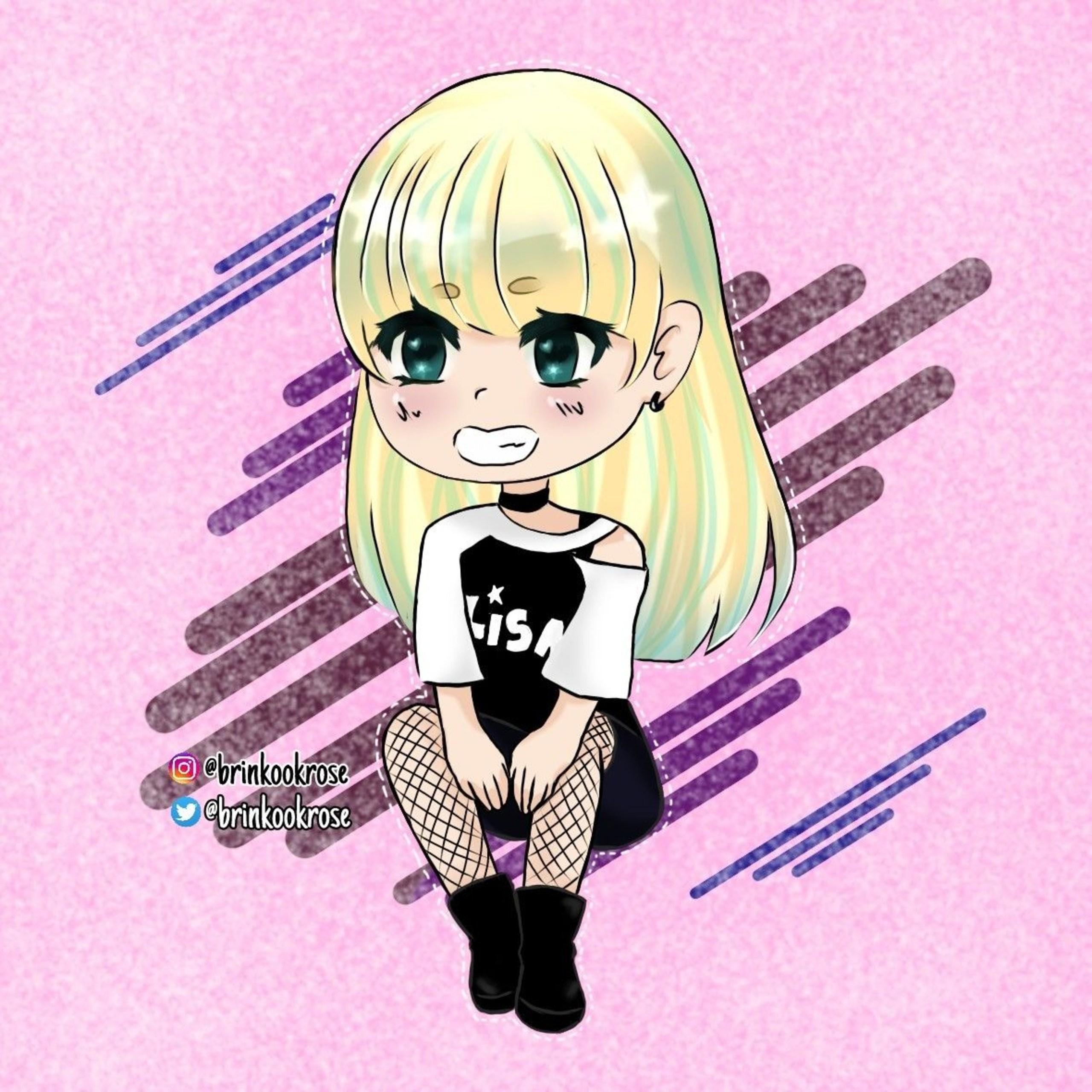 Blackpink Anime Lisa Blackpink Reborn 2020