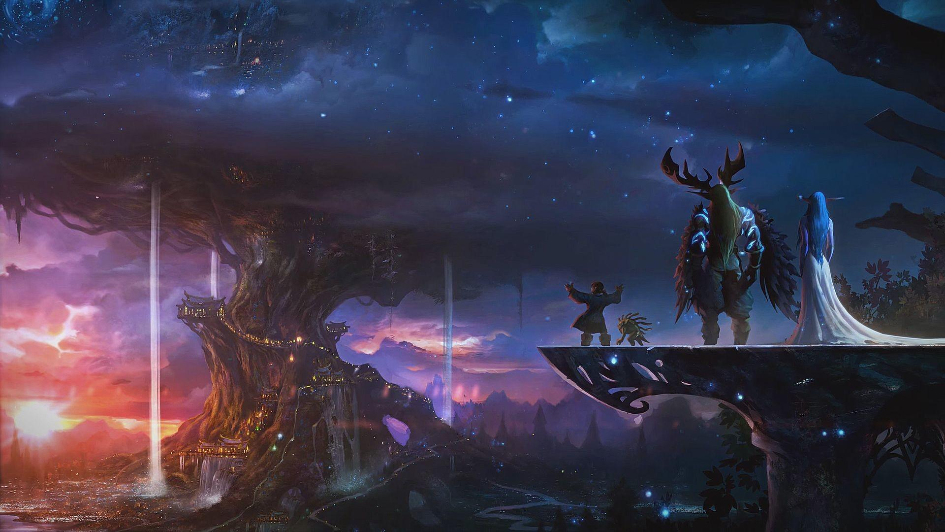 World Of Warcraft Classic Wallpapers Wallpaper Cave
