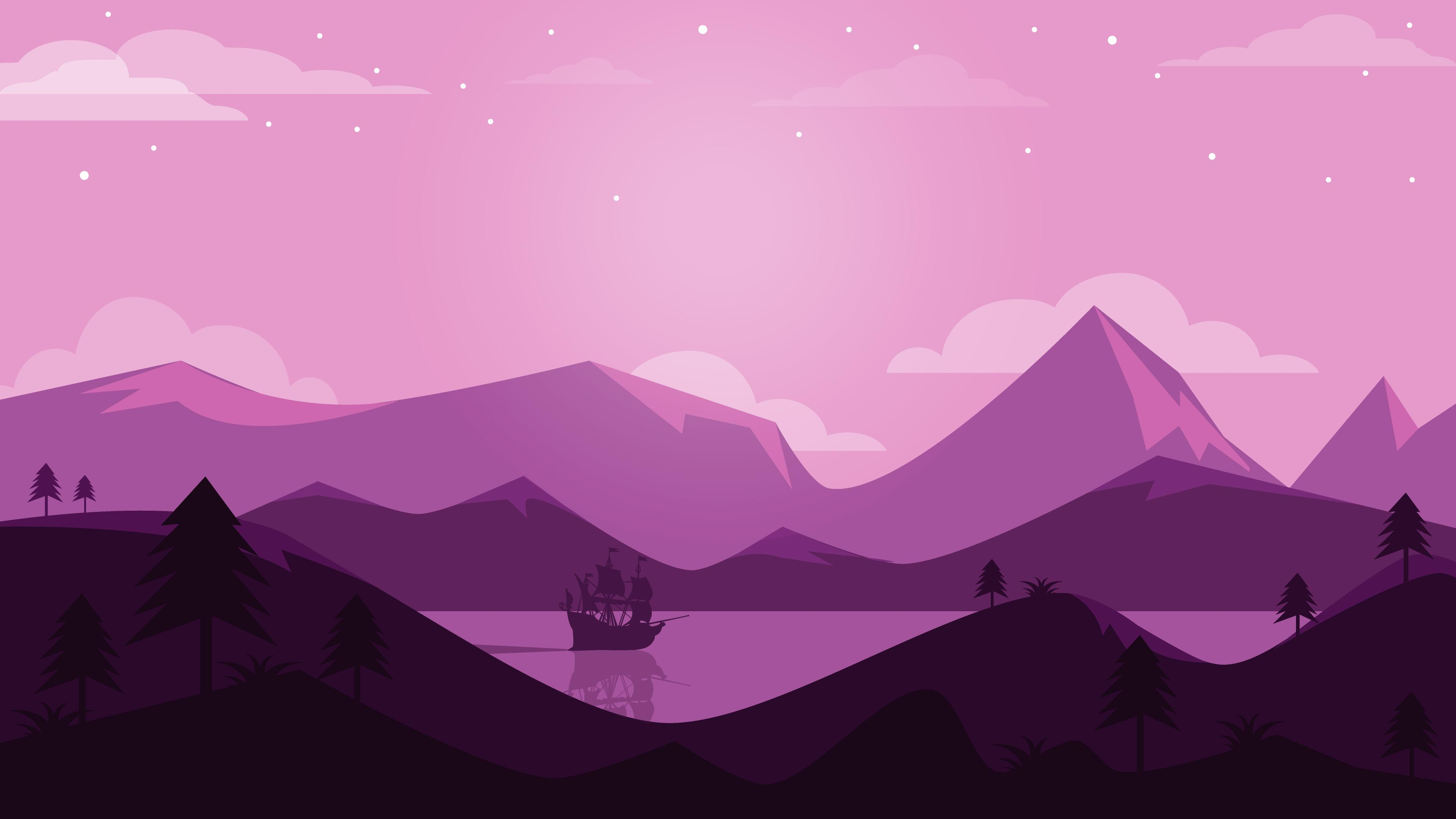 Purple Mountain Wallpapers Wallpaper Cave