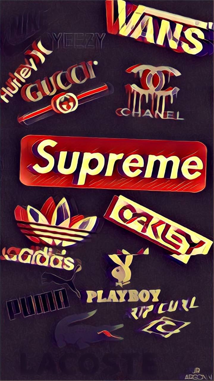 Gucci Iphone Supreme Wallpapers Wallpaper Cave