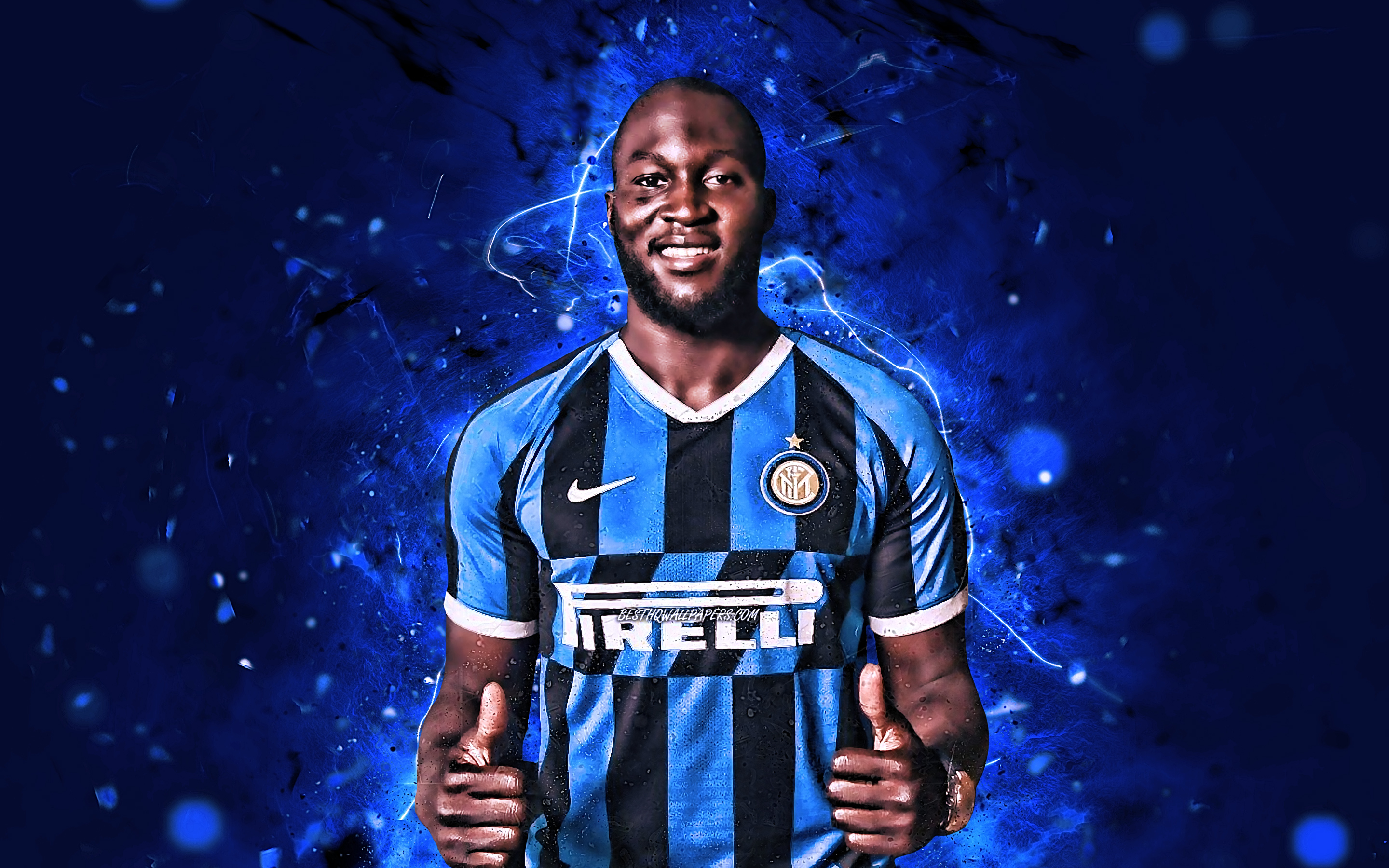 Romelu Lukaku Inter Milan Wallpapers
